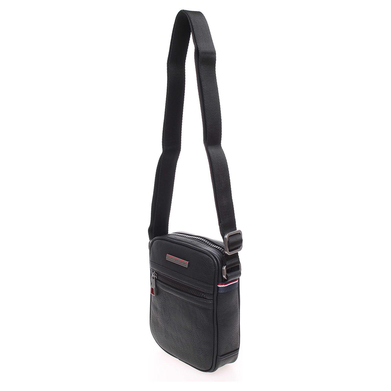 Ecco Tommy Hilfiger pánská taška AM0AM00794 černá 10701162