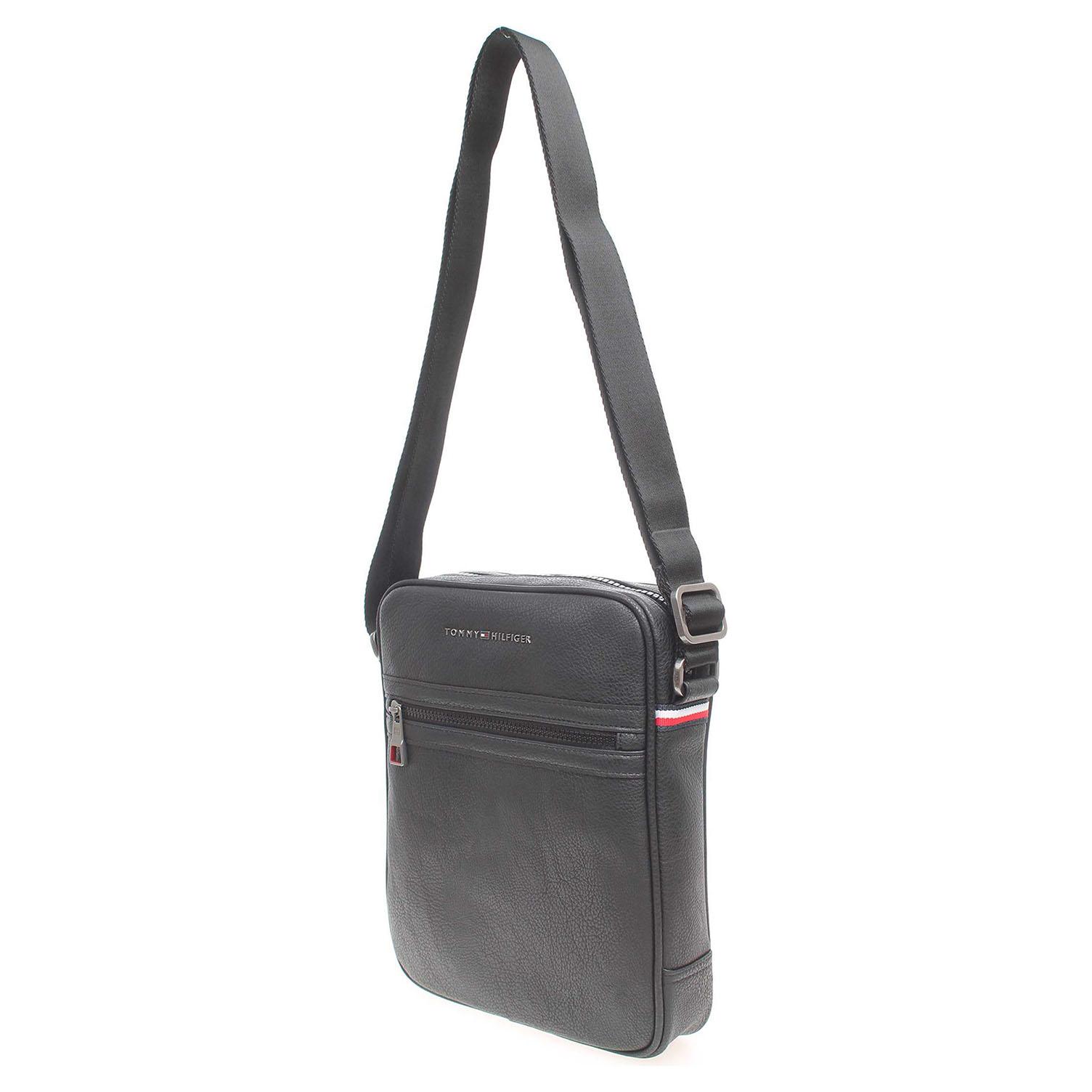 Ecco Tommy Hilfiger pánská taška AM0AM01716 černá 10701175