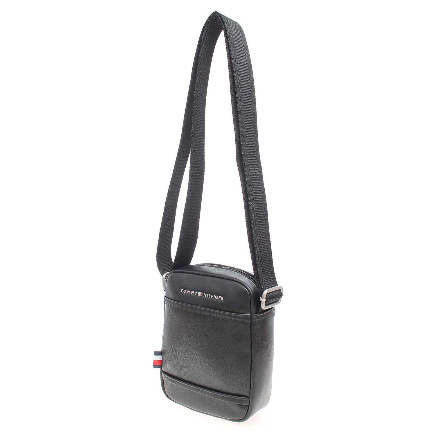 Ecco Tommy Hilfiger pánská taška AM0AM02330 černá 10701187