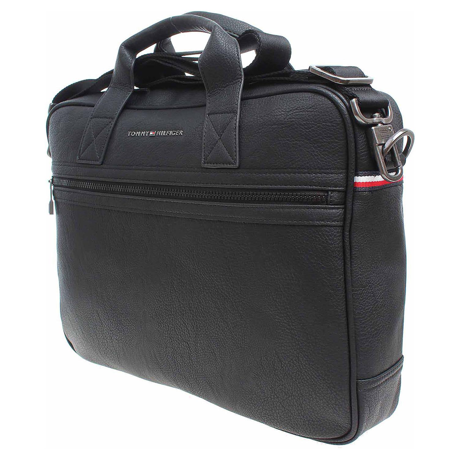 Ecco Tommy Hilfiger pánská taška AM0AM01589 černá 10701188