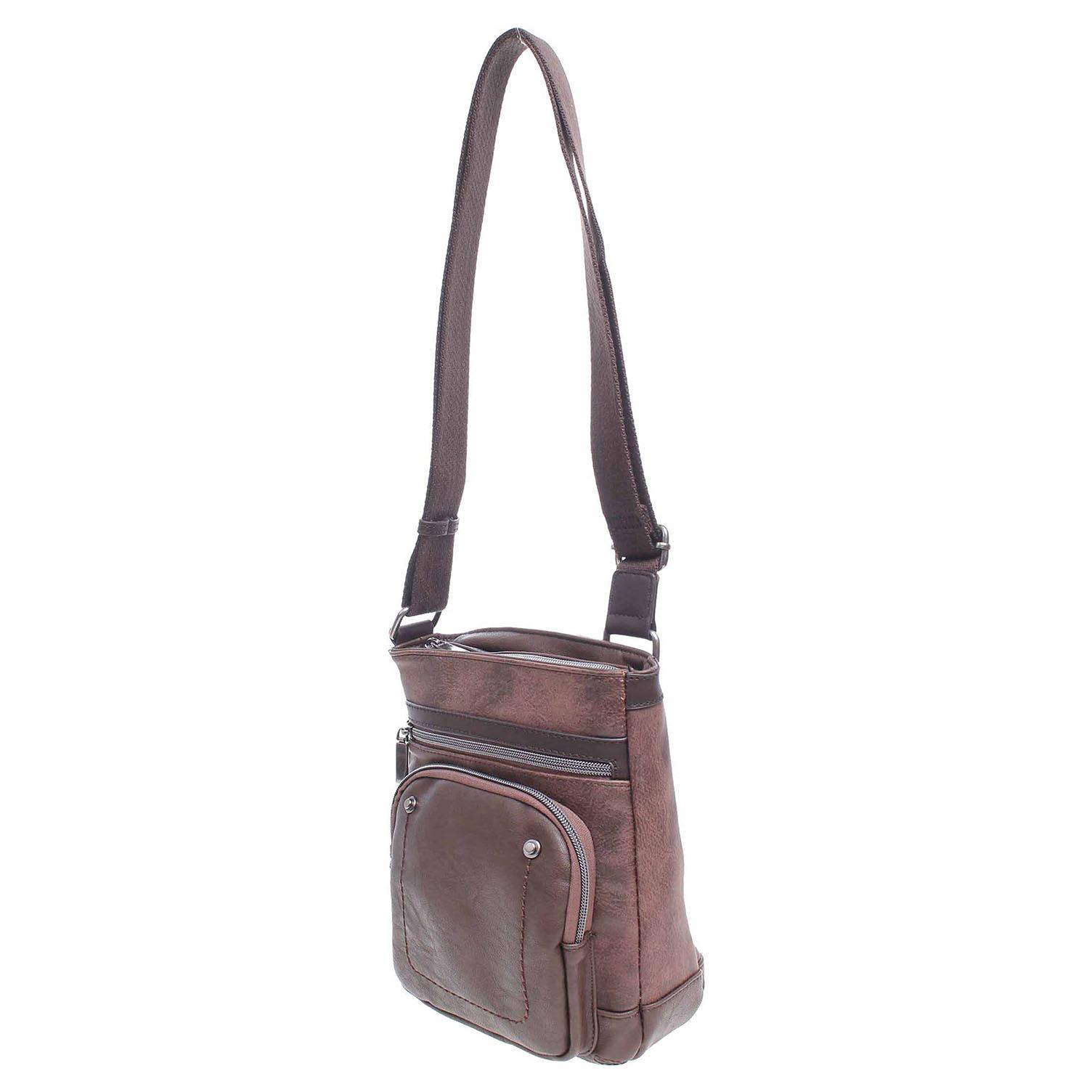 Ecco Dogsbybeluchi pánská taška 24122-2 marron 10701195