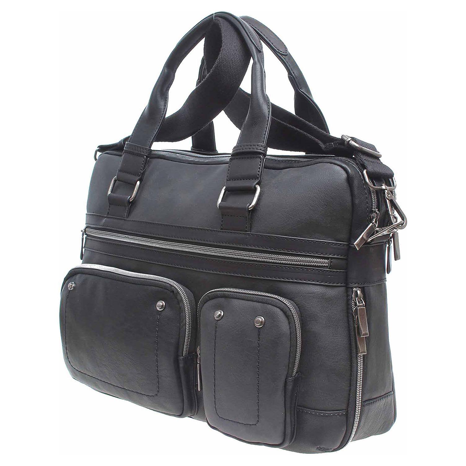 Ecco Dogsbybeluchi pánská taška 24125 negro 10701198