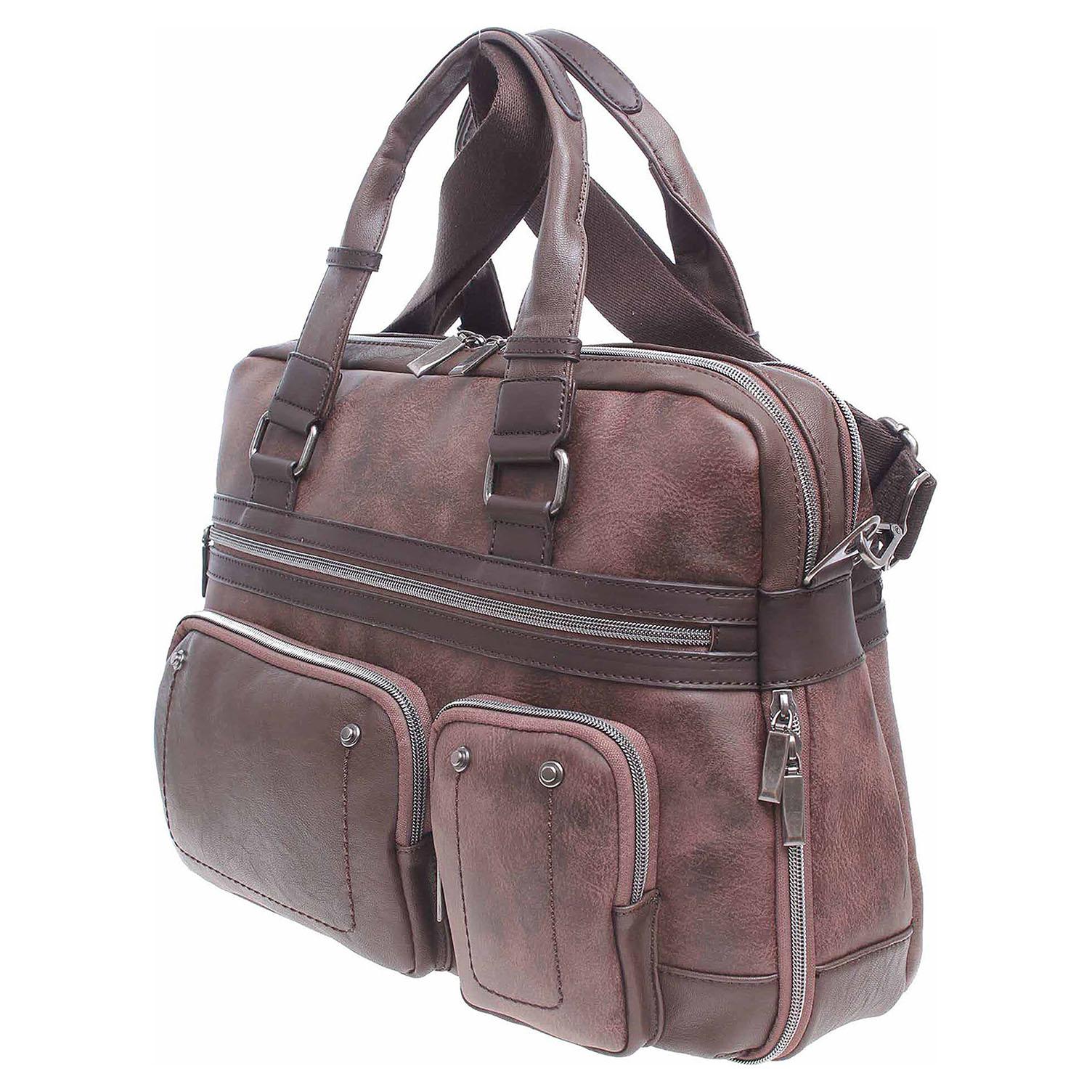 Ecco Dogsbybeluchi pánská taška 24125 marron 10701199