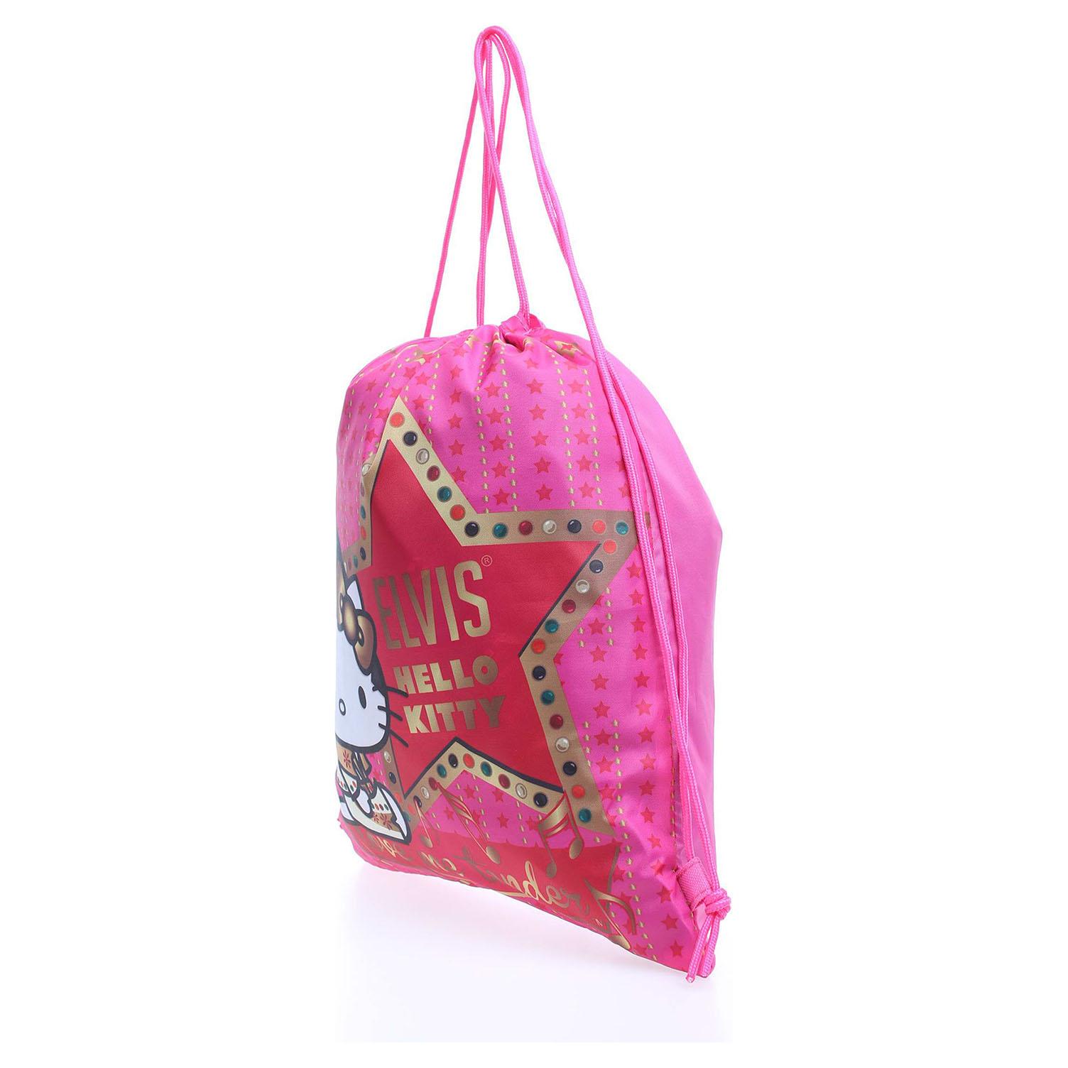 Ecco Hello Kitty 15345 fuxia dětský batoh 11601176