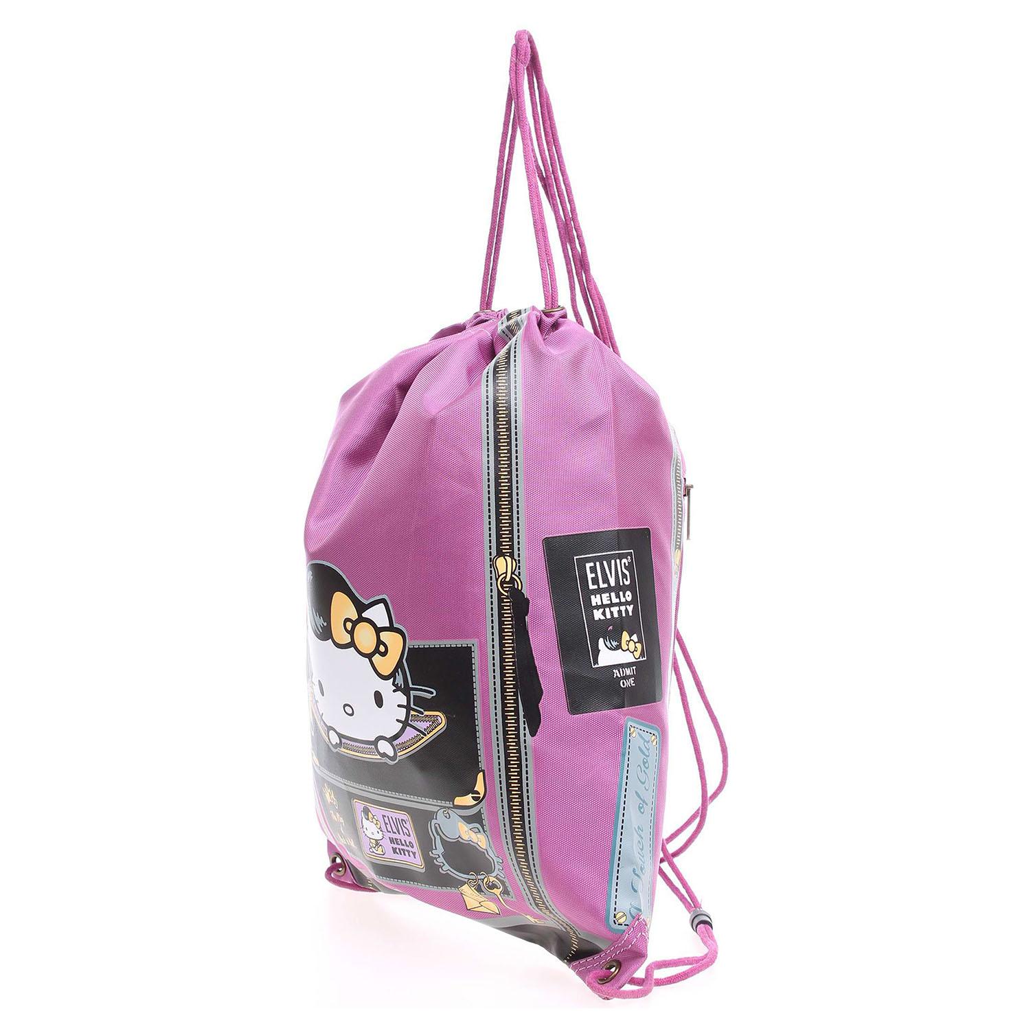 Hello Kitty 15337.3 violeta dámský batoh fialový 1 fialová fialová