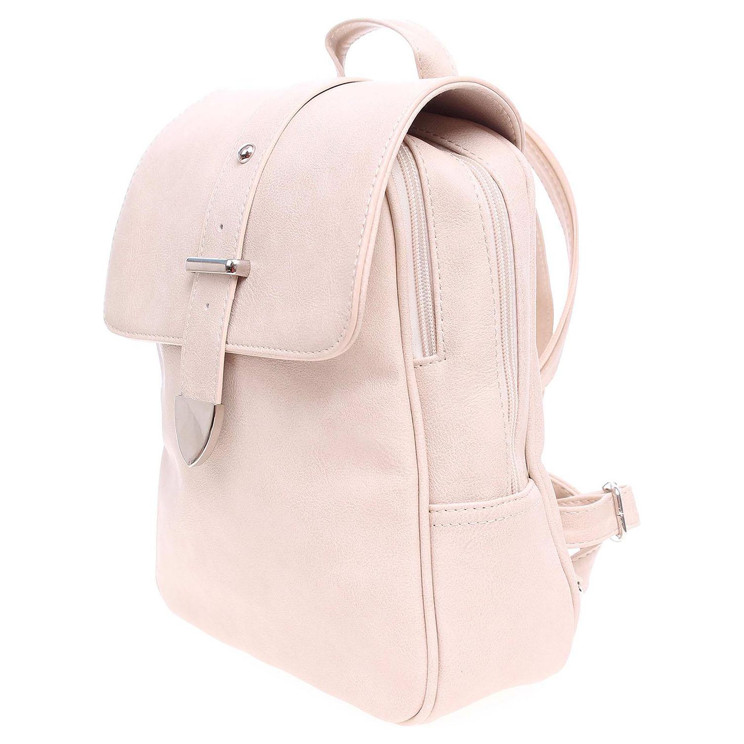 Ecco Dámský batoh J819PC béžový 11601253