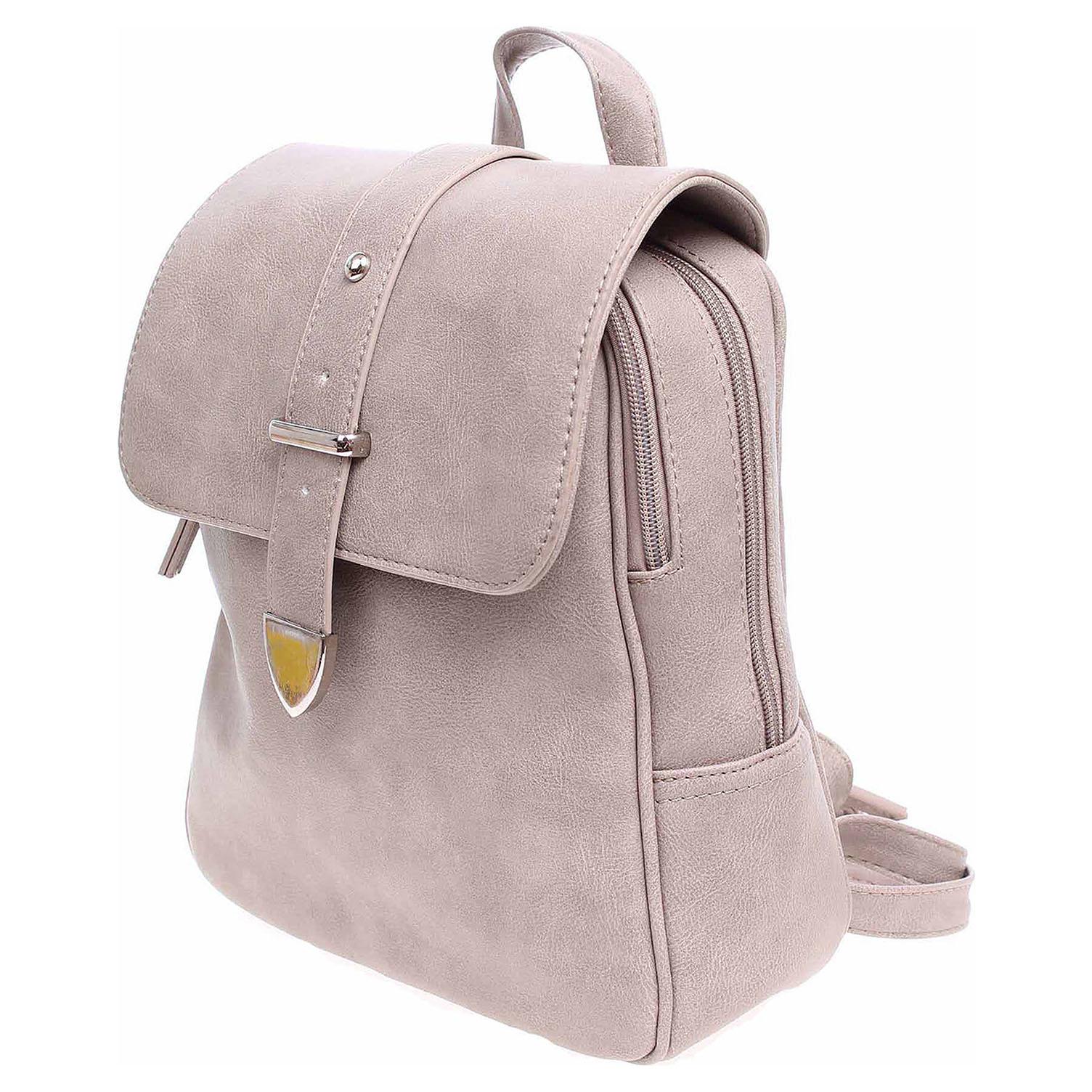 Dámský batoh J819PC hnědý 1