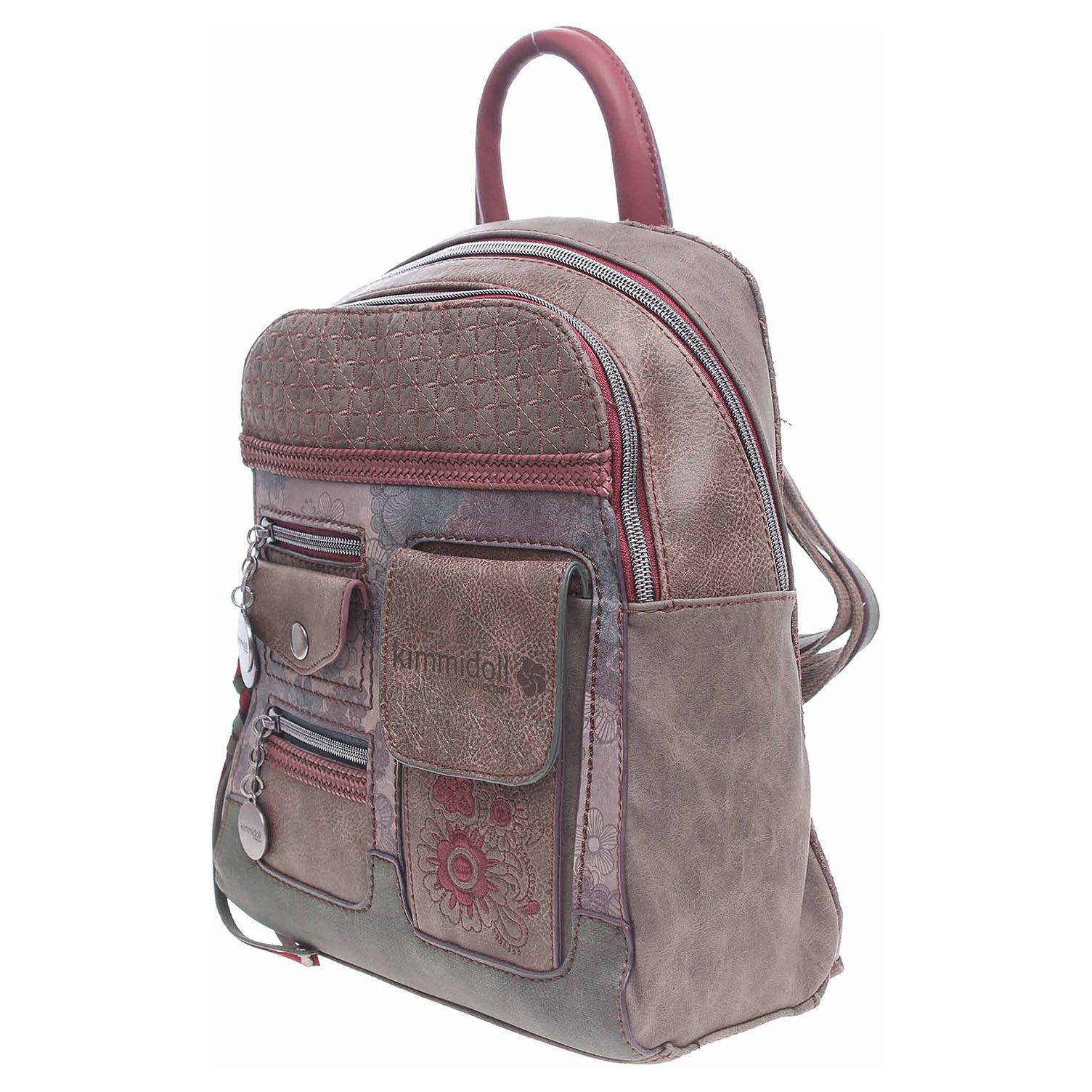 Ecco Kimmidoll dámský batoh 25676 hnědý 11601270