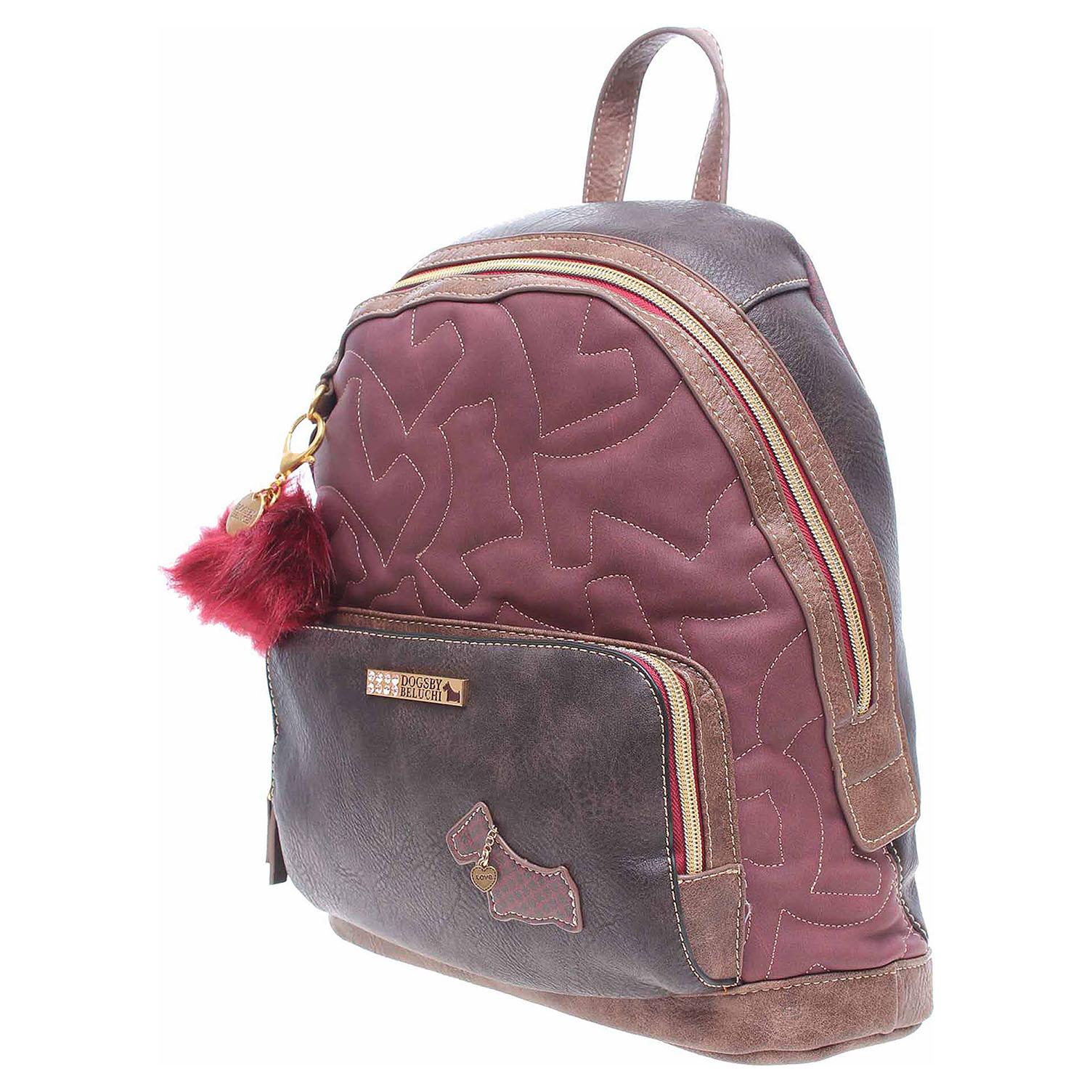 Ecco Dogsbybeluchi dámský batůžek 25415-1 marron 11601285