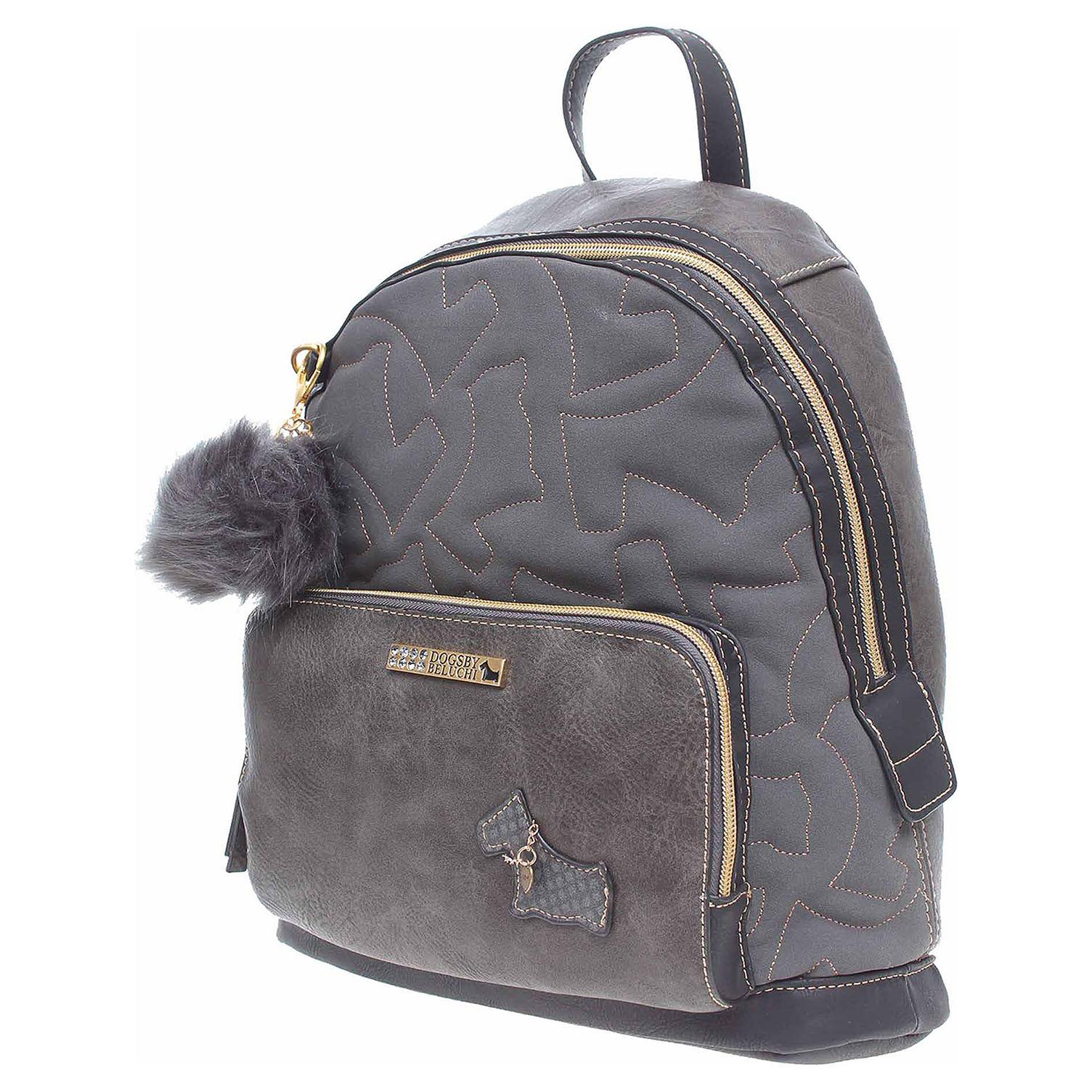 Ecco Dogsbybeluchi dámský batůžek 25415-1 negro 11601286