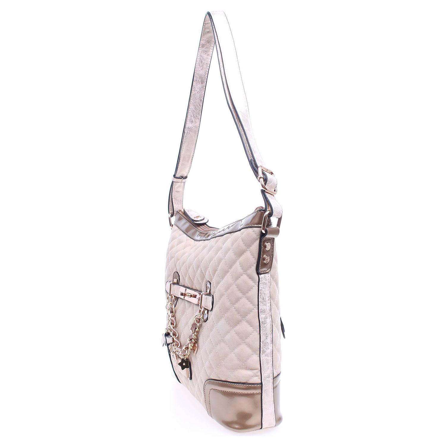 Hello Kitty 16241 beige dámská kabelka béžová 16241 1 béžová béžová