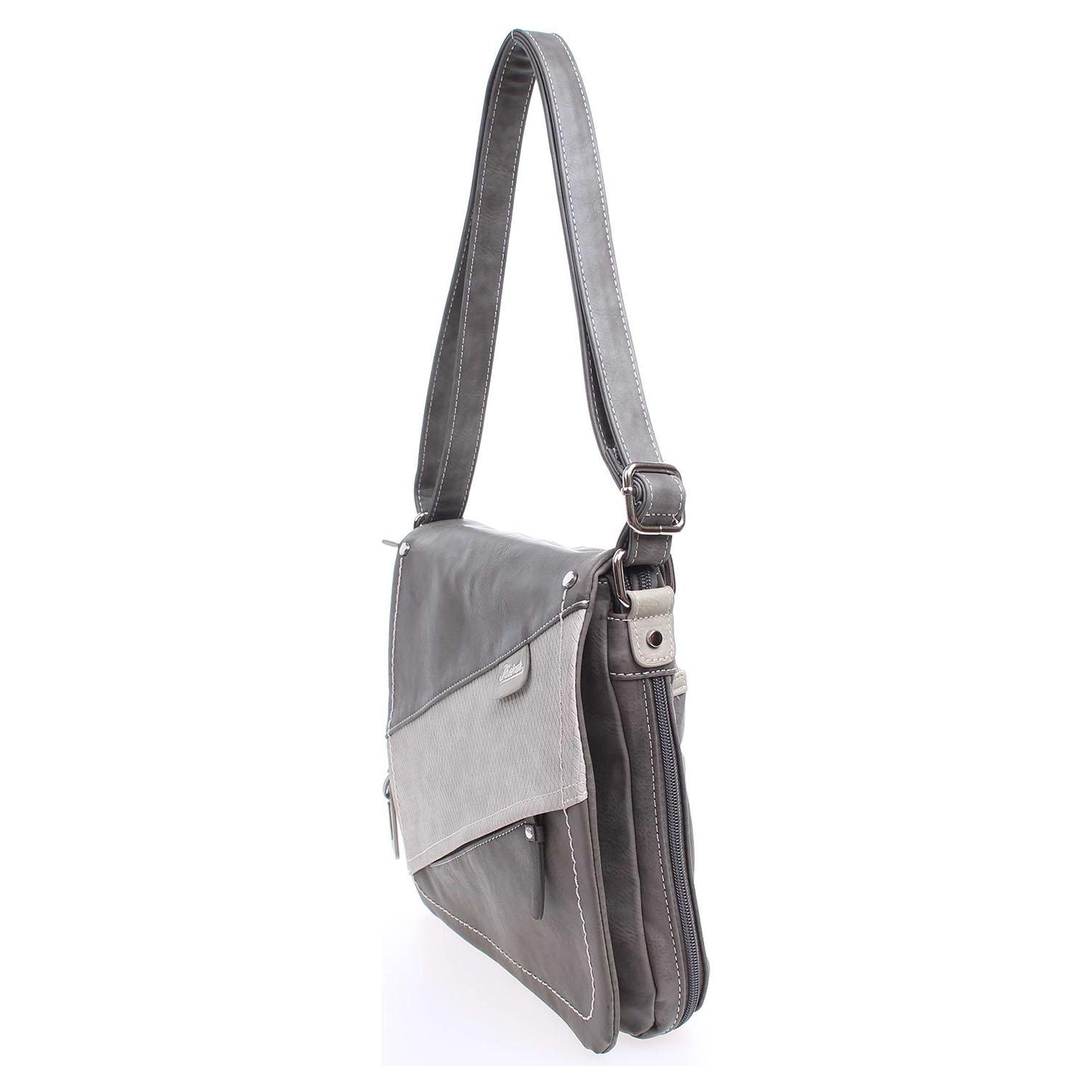 Ecco Rieker dámská kabelka H1102-45 šedá 11890908