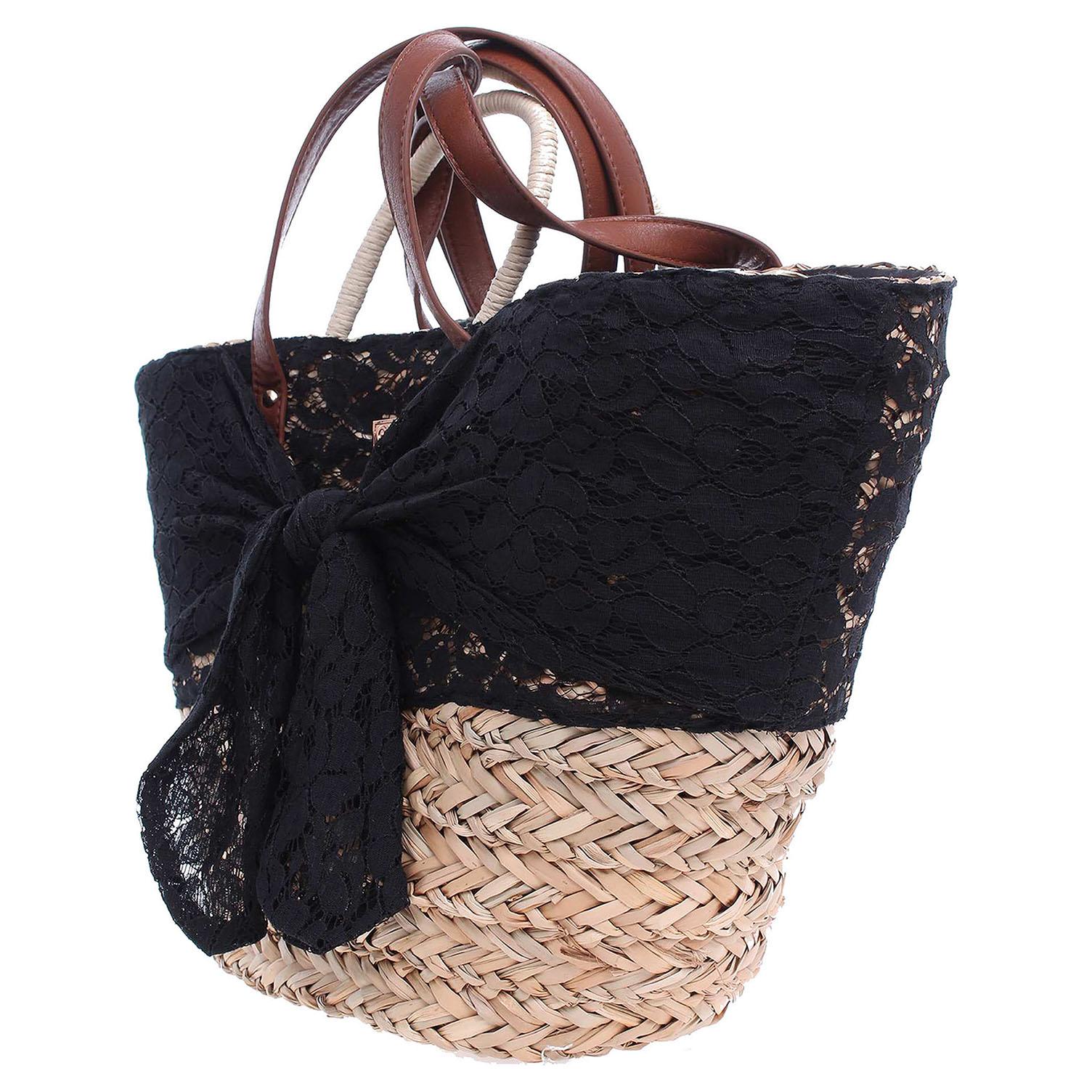 Ecco Gioseppo Bernice dámská kabelka černá-béžová 11890983