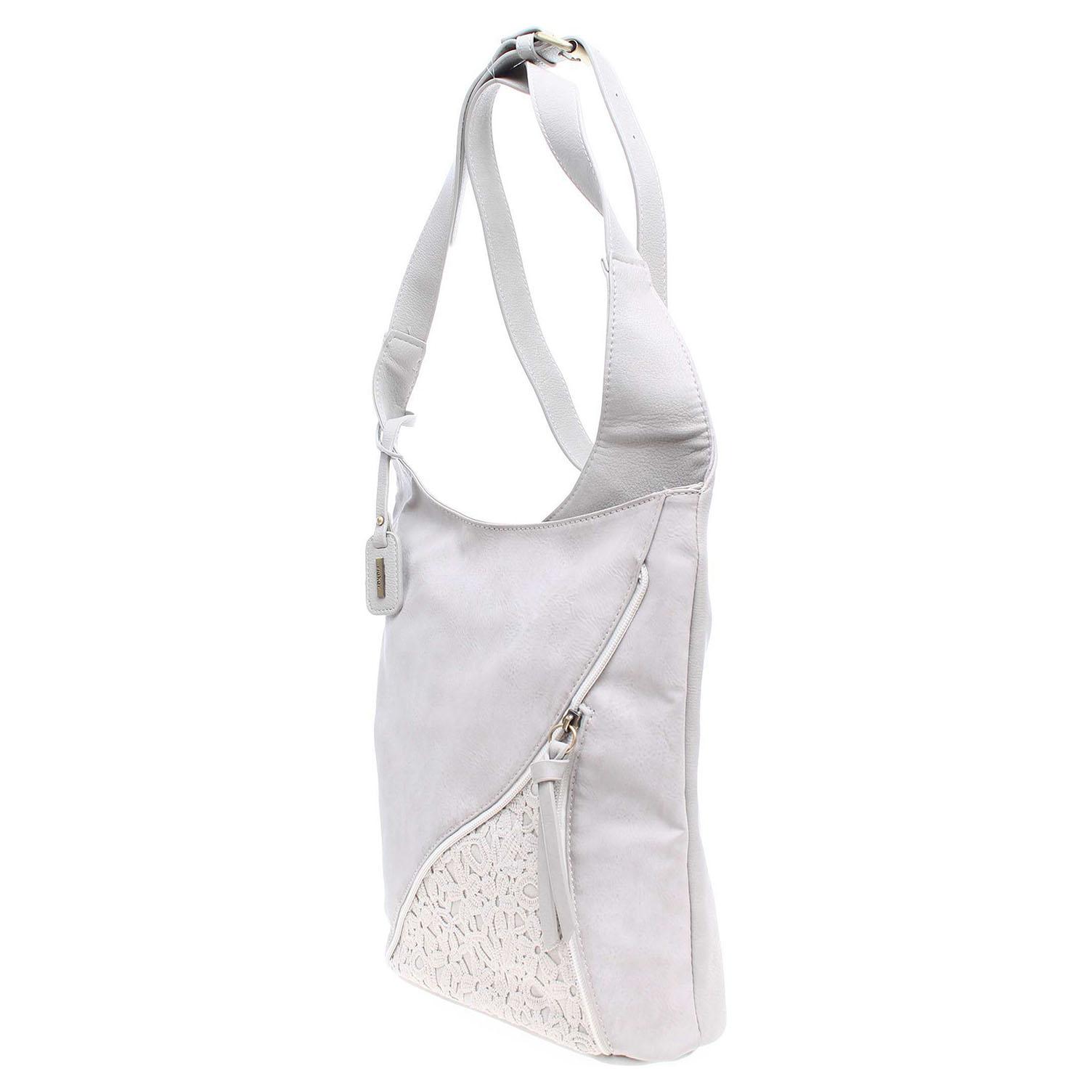 Ecco Rieker dámská kabelka H1428-40 šedá 11891122