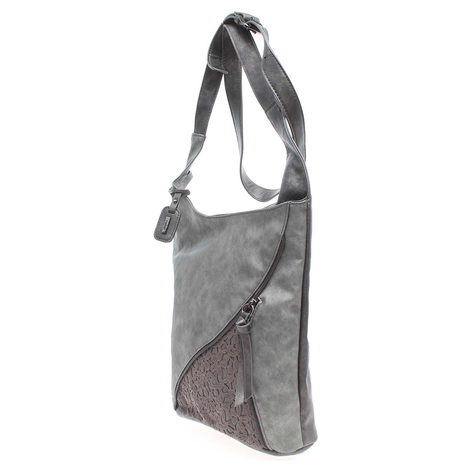 Ecco Rieker dámská kabelka H1428-45 šedá 11891123