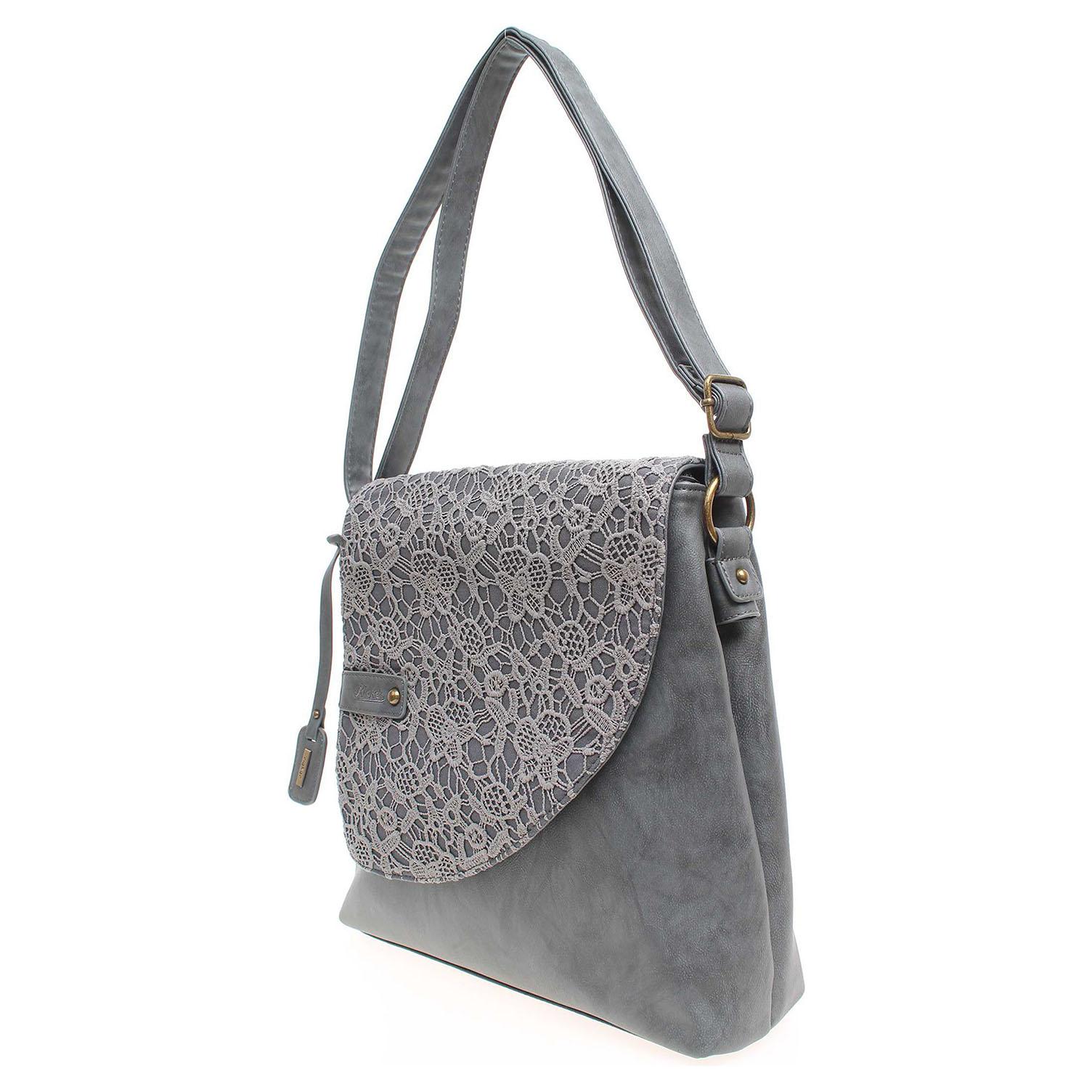 Ecco Rieker dámská kabelka H1107-15 šedá 11891137
