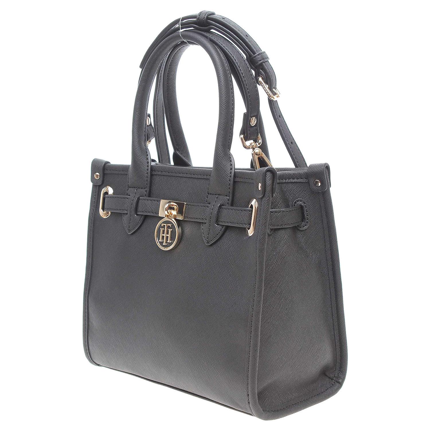 Ecco Tommy Hilfiger dámská kabelka AW0AW03646 černá 11891141