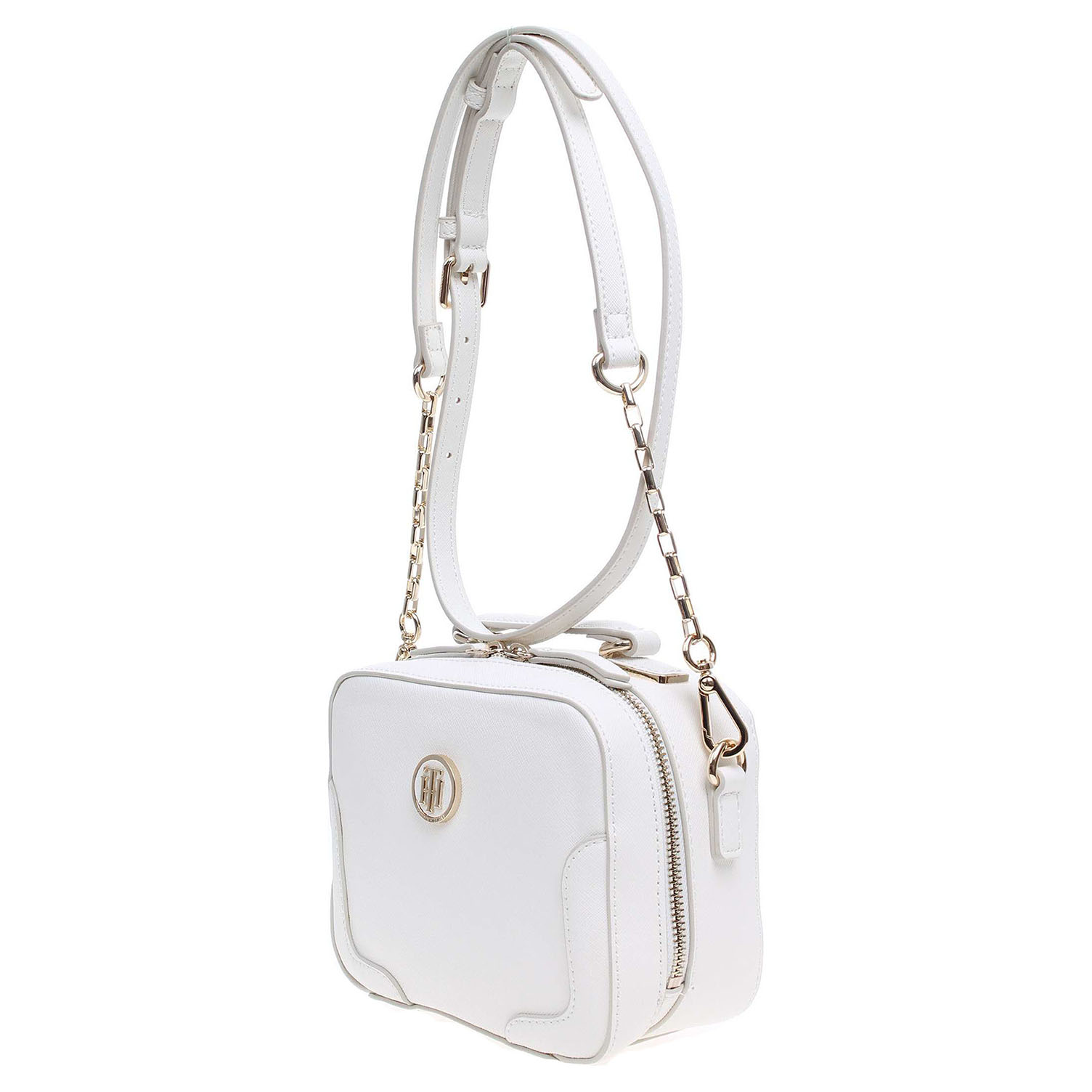 Ecco Tommy Hilfiger dámská kabelka AW0AW03675 bílá 11891143