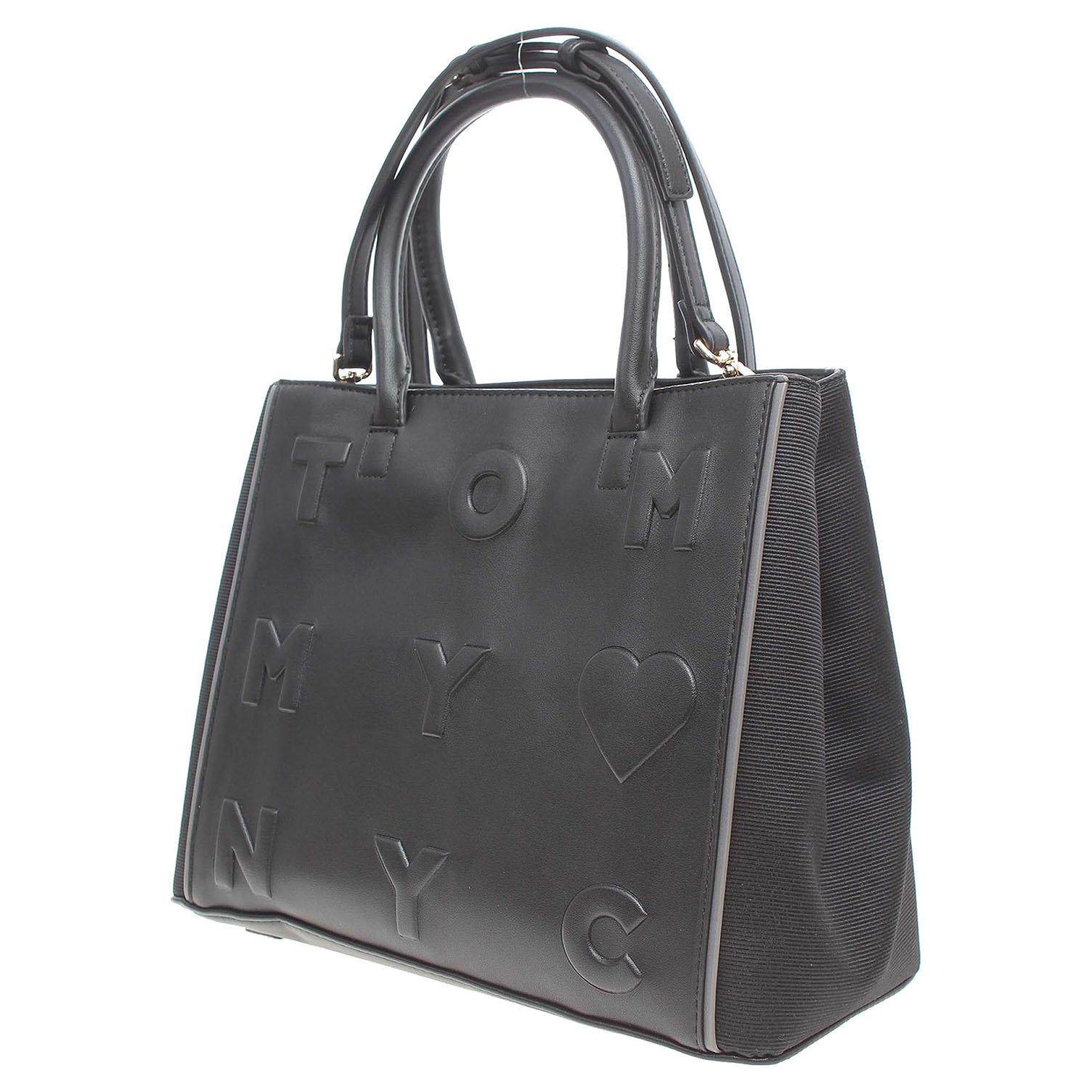 Ecco Tommy Hilfiger dámská kabelka AW0AW03829 černá 11891153