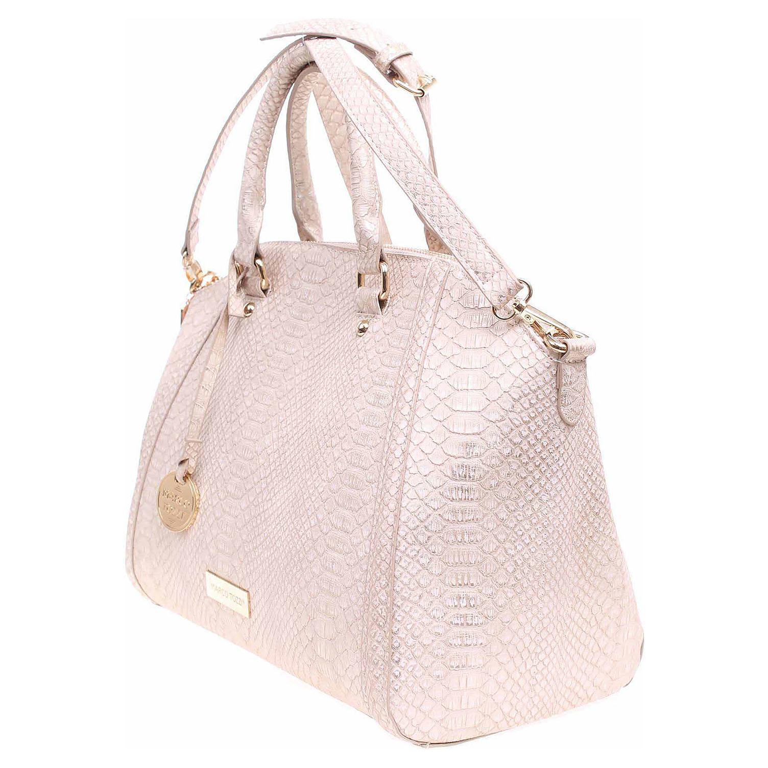 Ecco Marco Tozzi dámská kabelka 2-61118-28 růžová-zlatá 11891162