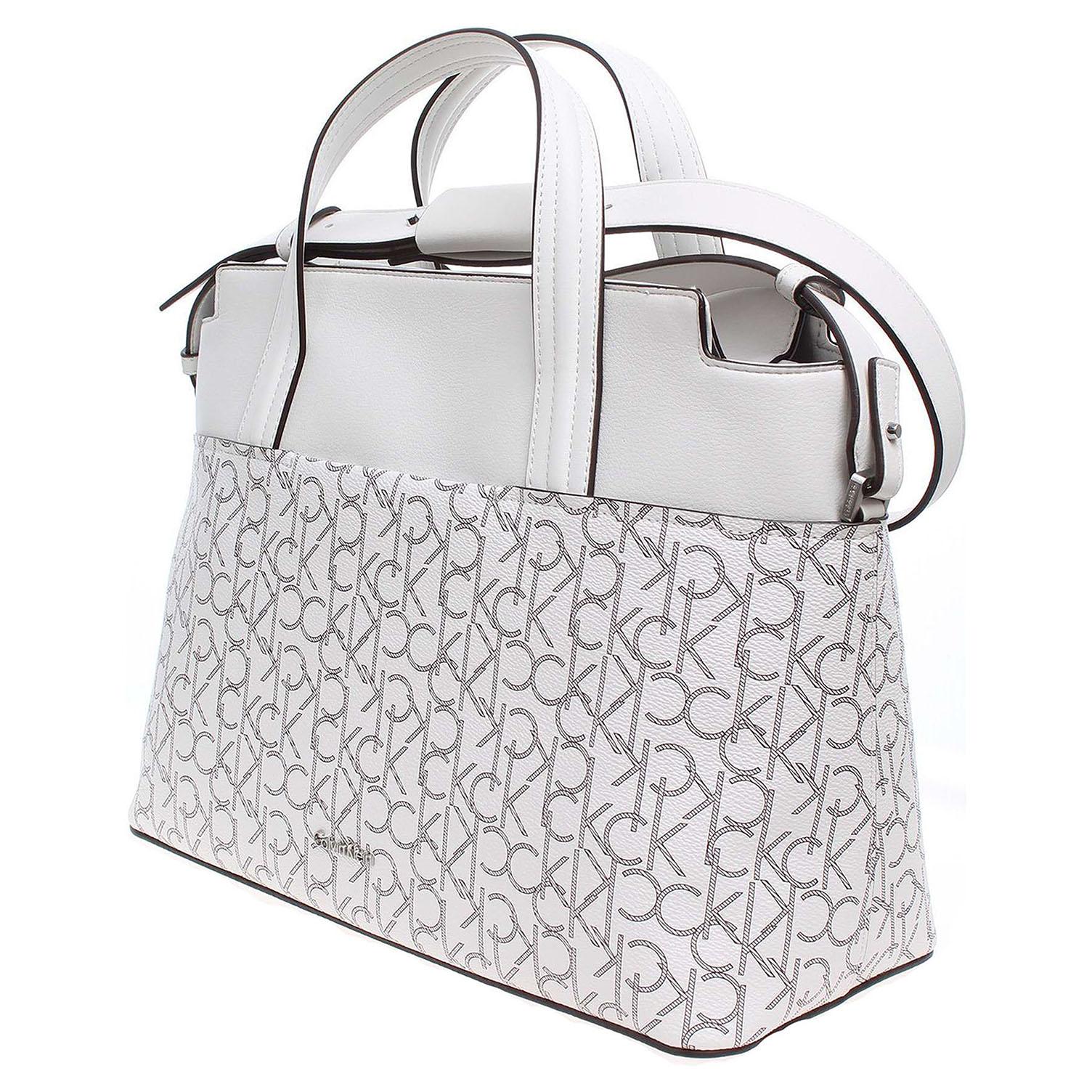 Ecco Calvin Klein dámská kabelka K60K602524901 bílá 11891164