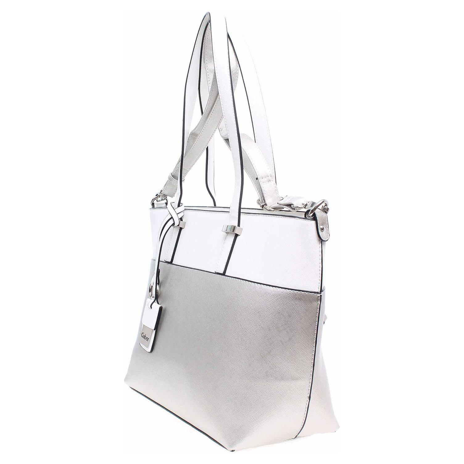 Ecco Gabor dámská kabelka 7635 14 Tivoli stříbrná 11891173