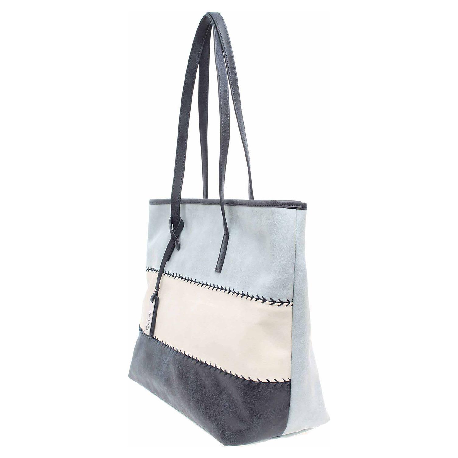 Ecco Gabor dámská kabelka 7657 50 Turin modrá 11891174