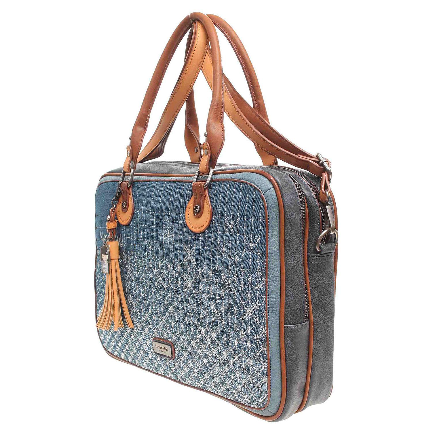 Ecco Kimmidoll dámská kabelka 24605 modrá 11891224