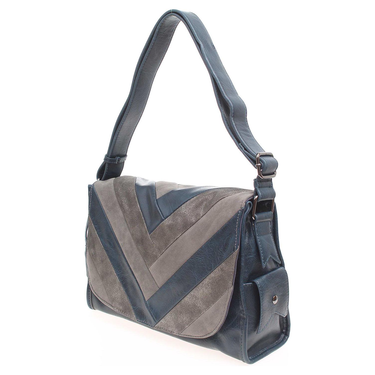 Ecco Remonte dámská kabelka Q0414-14 modrá 11891243