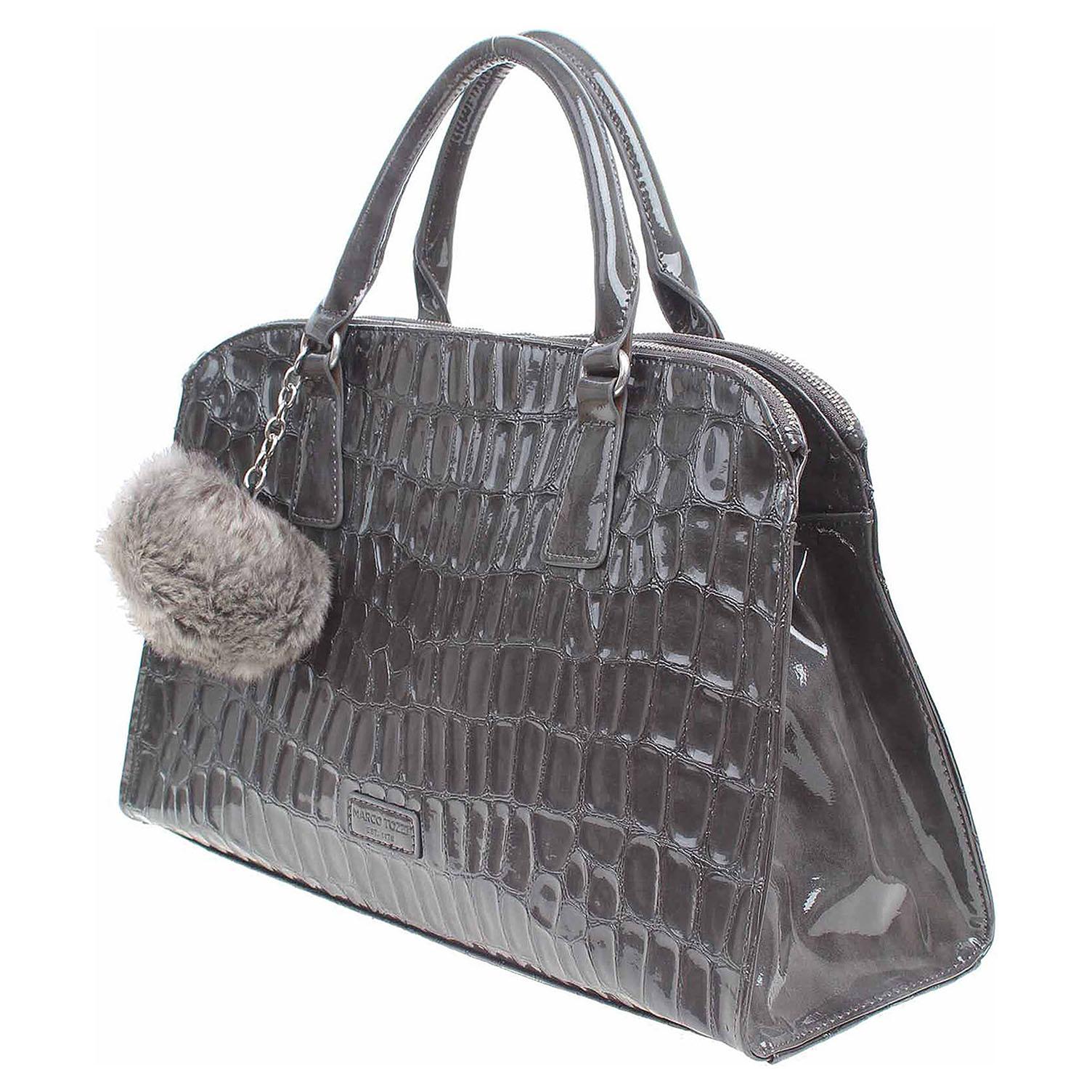 Ecco Marco Tozzi dámská kabelka 2-61107-29 šedá 11891247