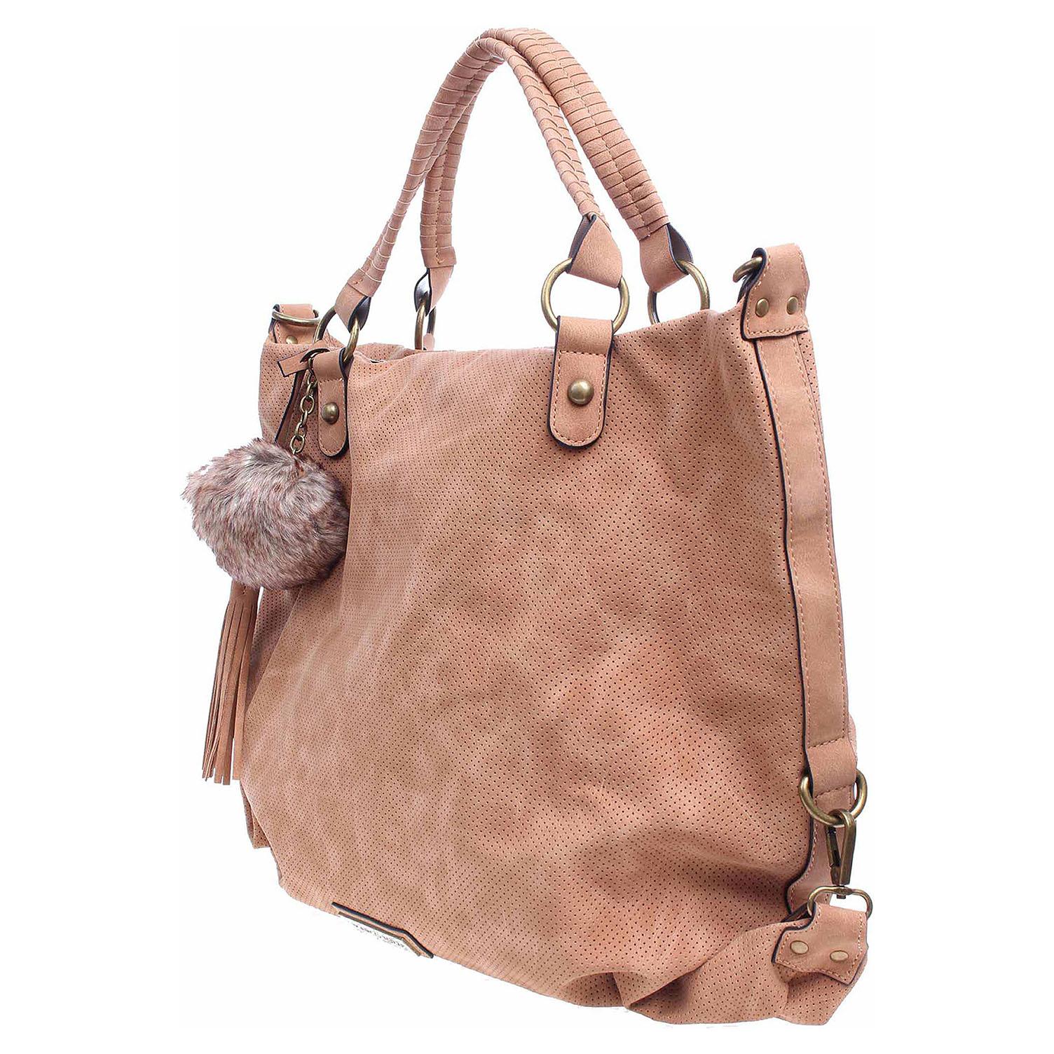 Ecco Marco Tozzi dámská kabelka 2-61124-29 světlehnědá 11891249