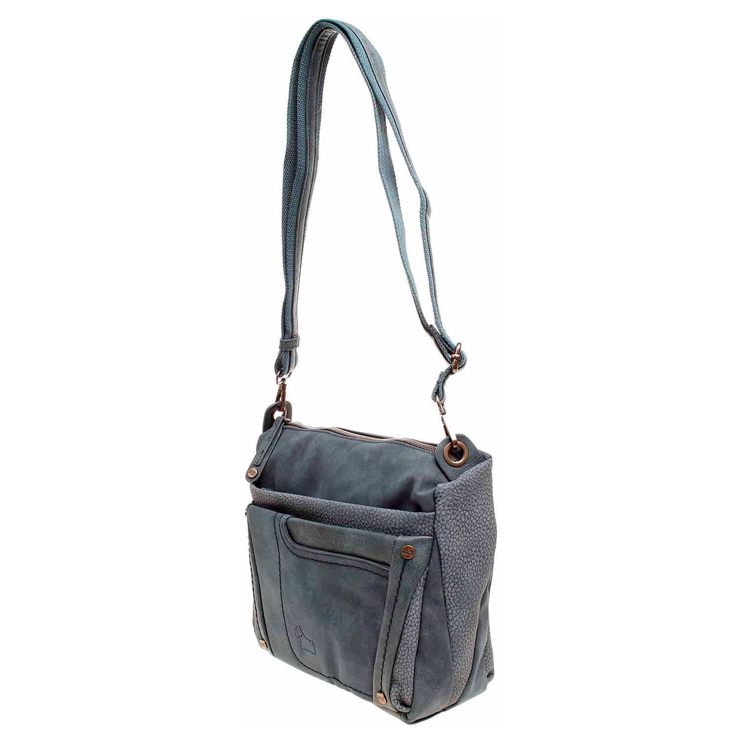 Ecco Dogsbybeluchi dámská kabelka 25352-2 azul 11891287
