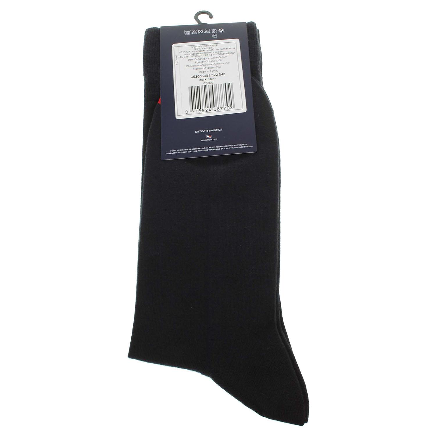 Tommy Hilfiger pánské ponožky 352006001 modré 43