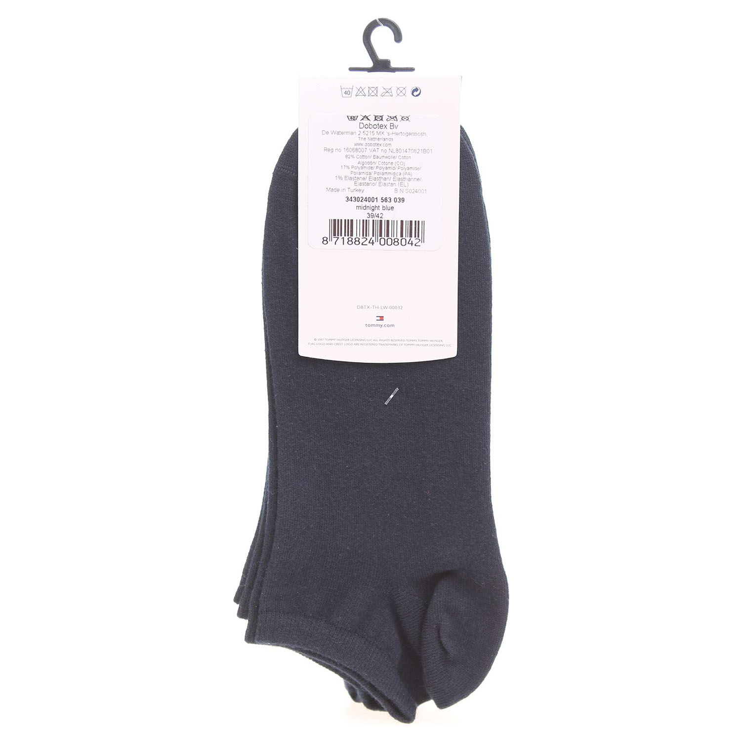 Ecco Tommy Hilfiger dámské ponožky 343024001 modré 13201999