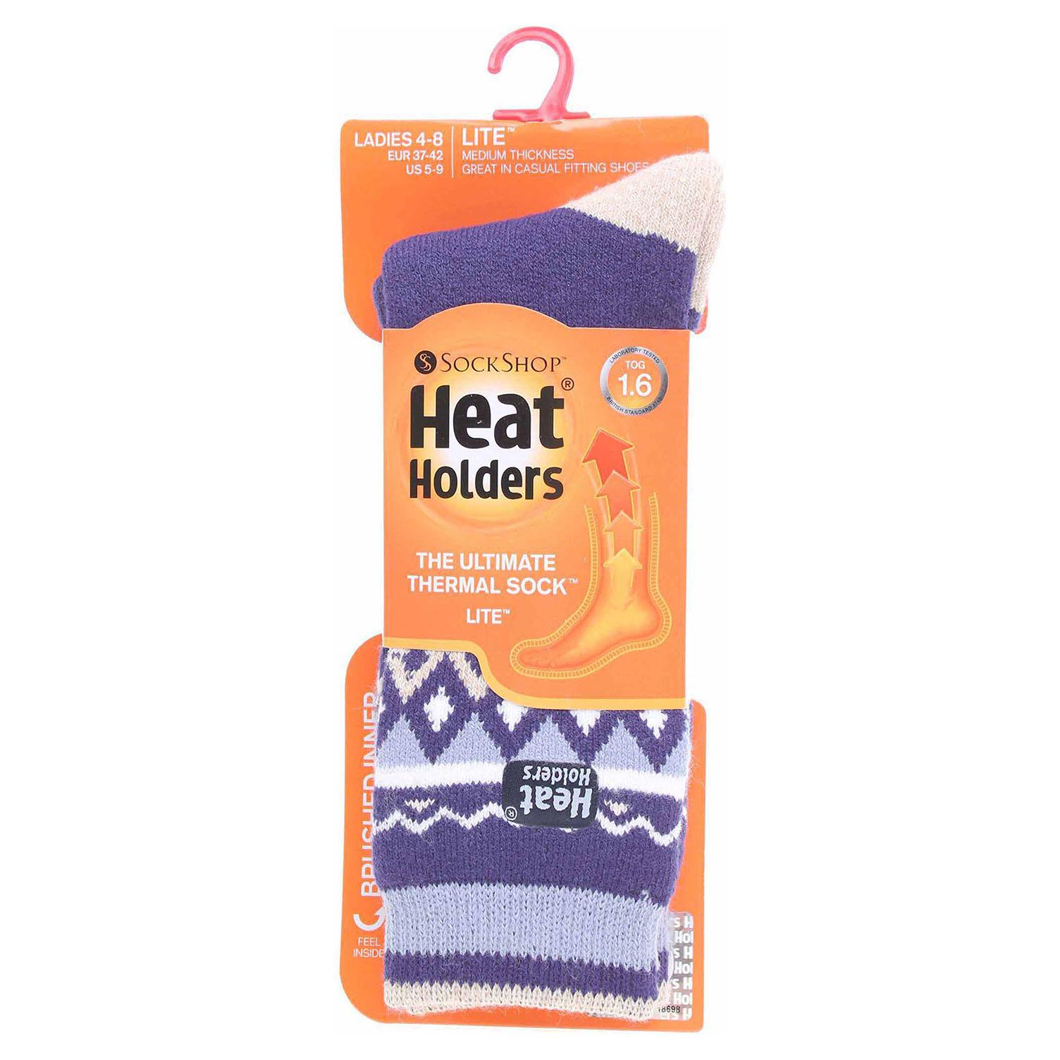 Ecco Heat Holders dámské ponožky HH557NVY modré 13202023
