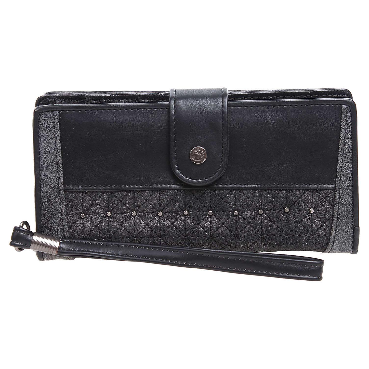Hello Kitty 19219.1 negro dámská peněženka černá 1