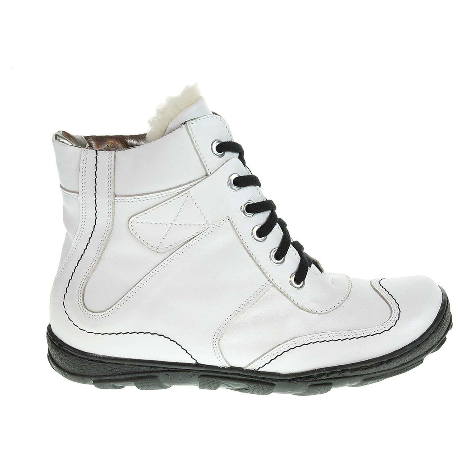 Ecco Dámská kotníková obuv 1212 bílá 22400534