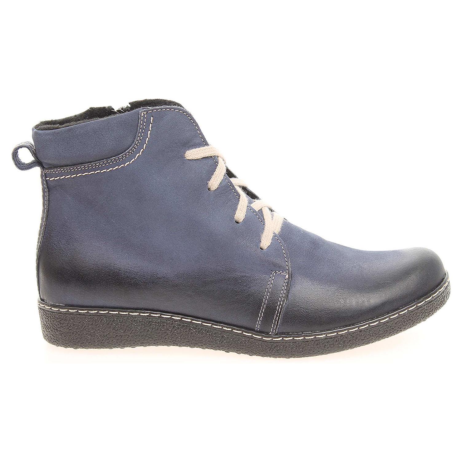 Ecco Dámská kotníková obuv J3171C modrá 22400535