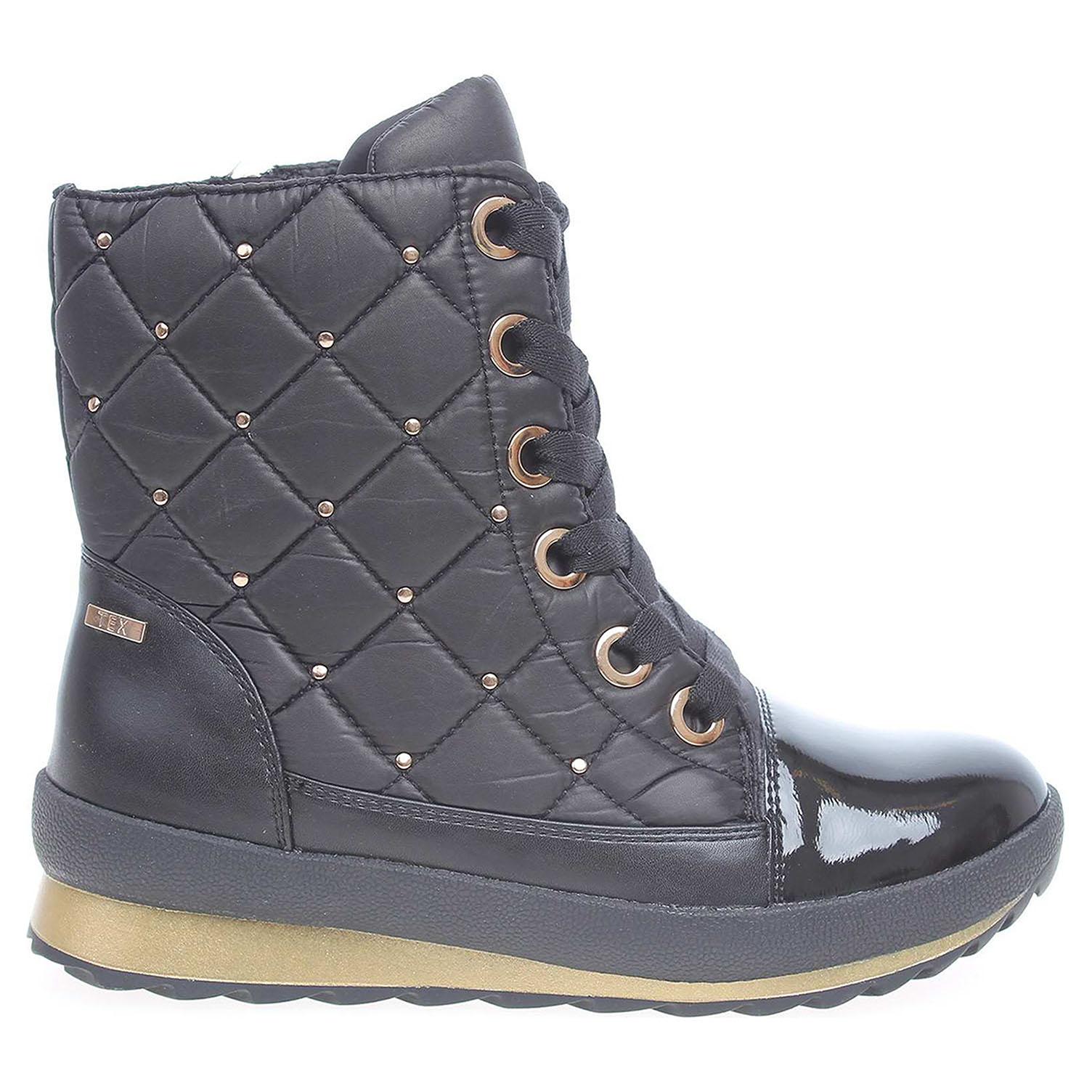 Ecco Caprice dámské kotníkové 9-26204-29 černé 22400588
