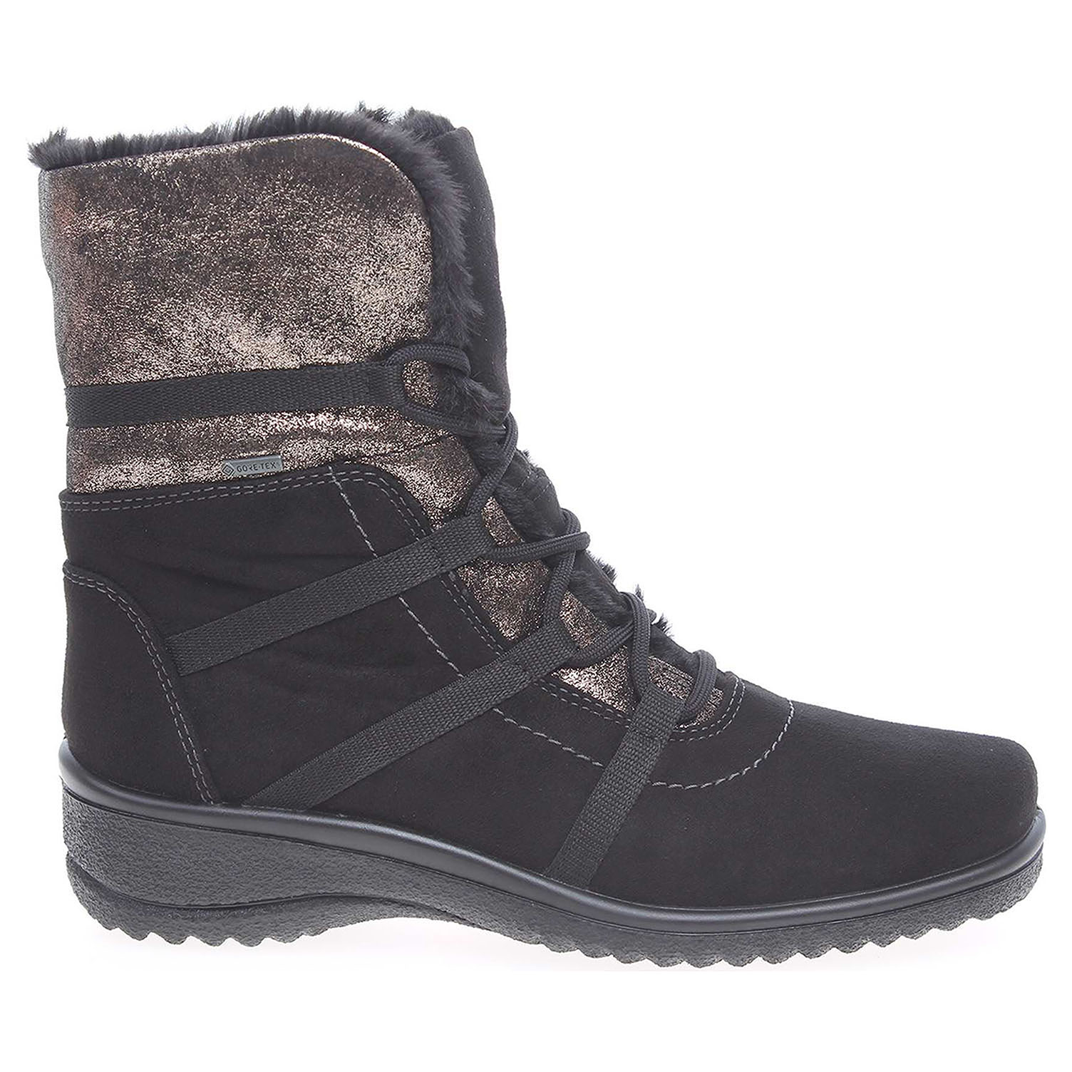 Ara dámská obuv 48523-95 černá 12-48523-95 37