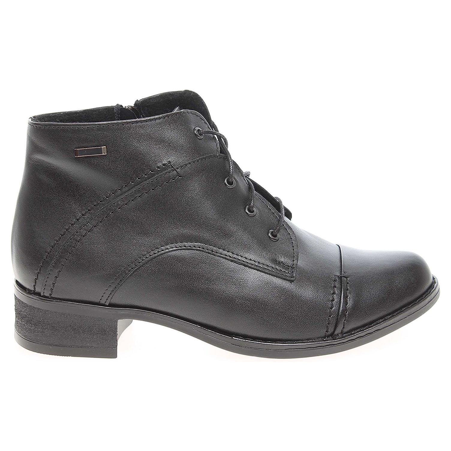 Ecco Dámská kotníková obuv AR 754 černá 22400621