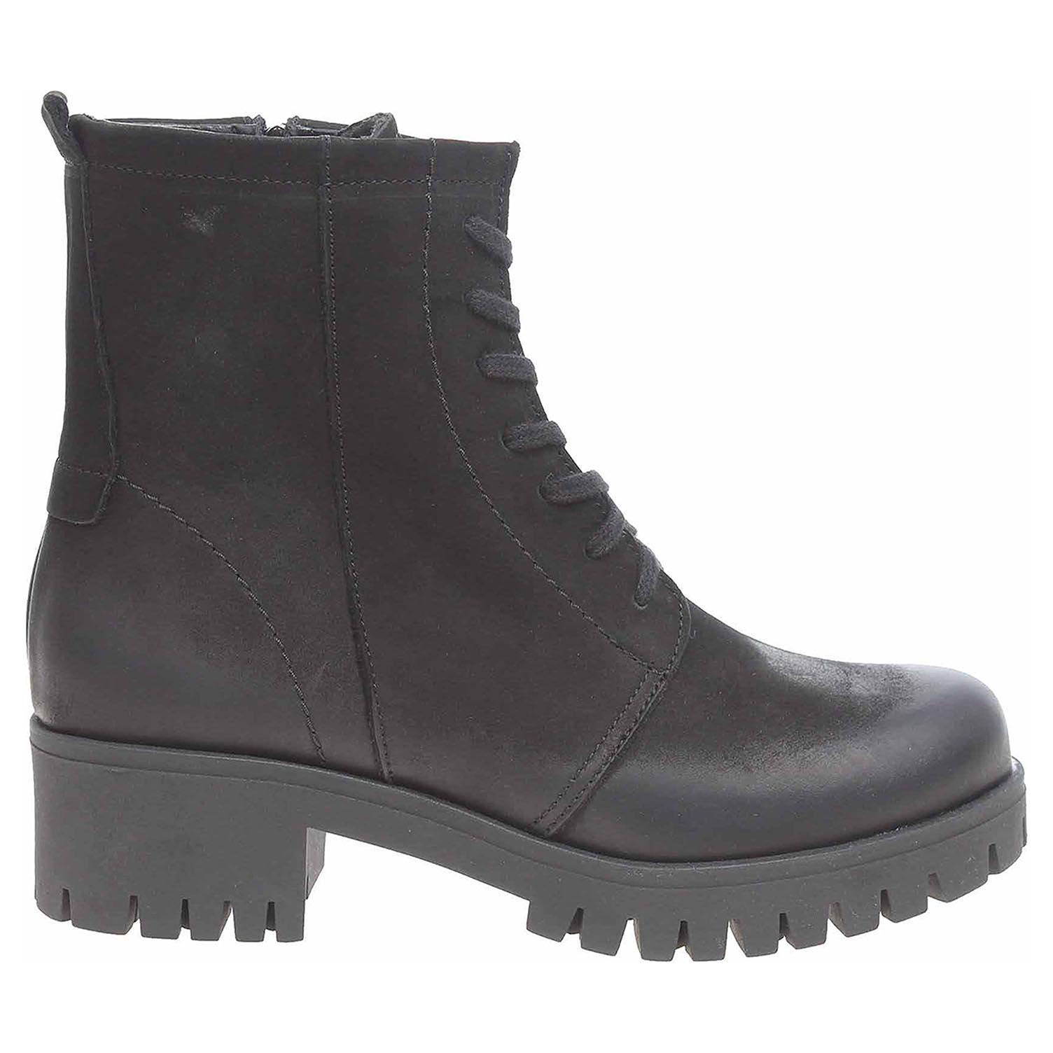 Ecco Dámská kotníková obuv J3085A černá 22400625