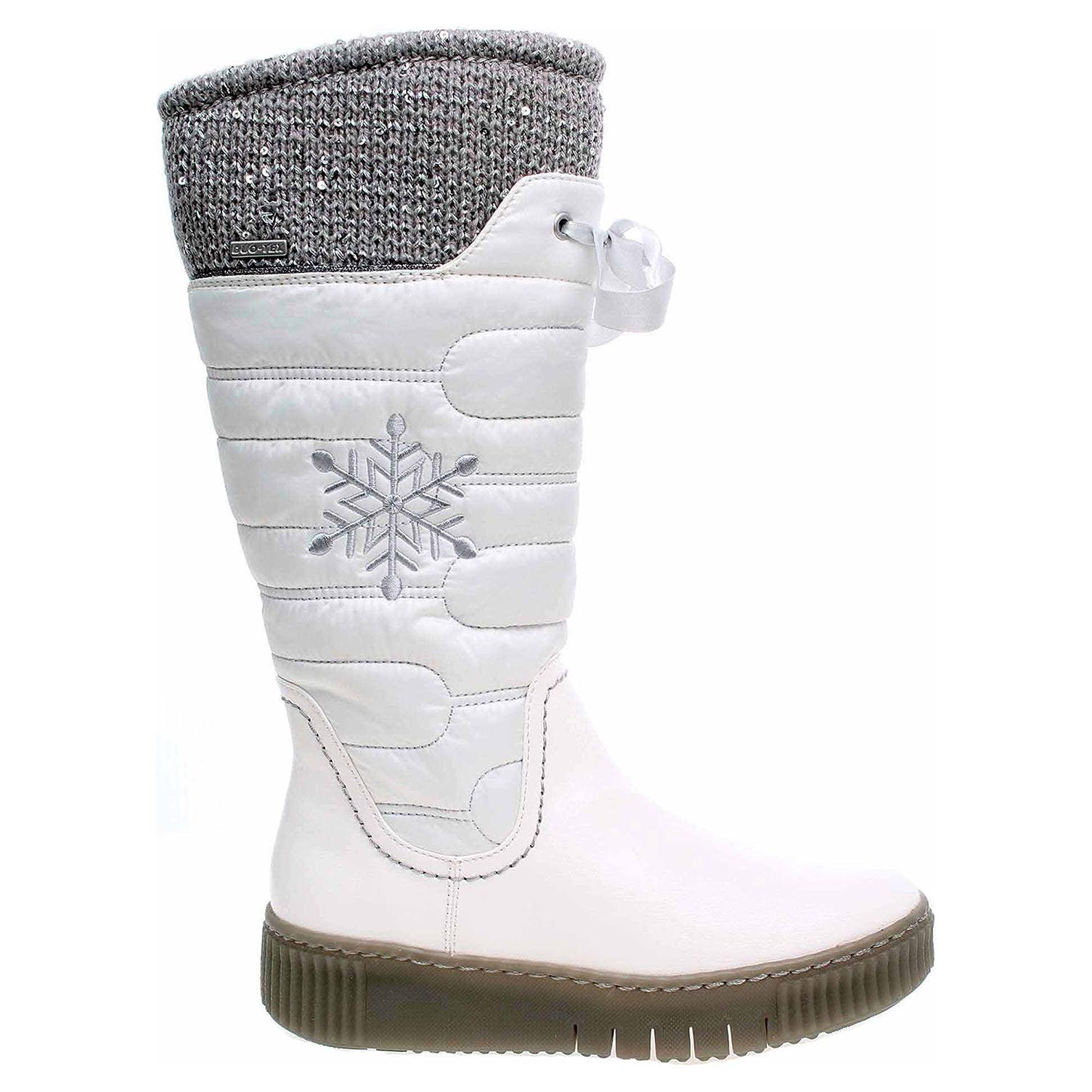 Ecco Tamaris dámská obuv 1-26628-39 offwhite comb 22400635