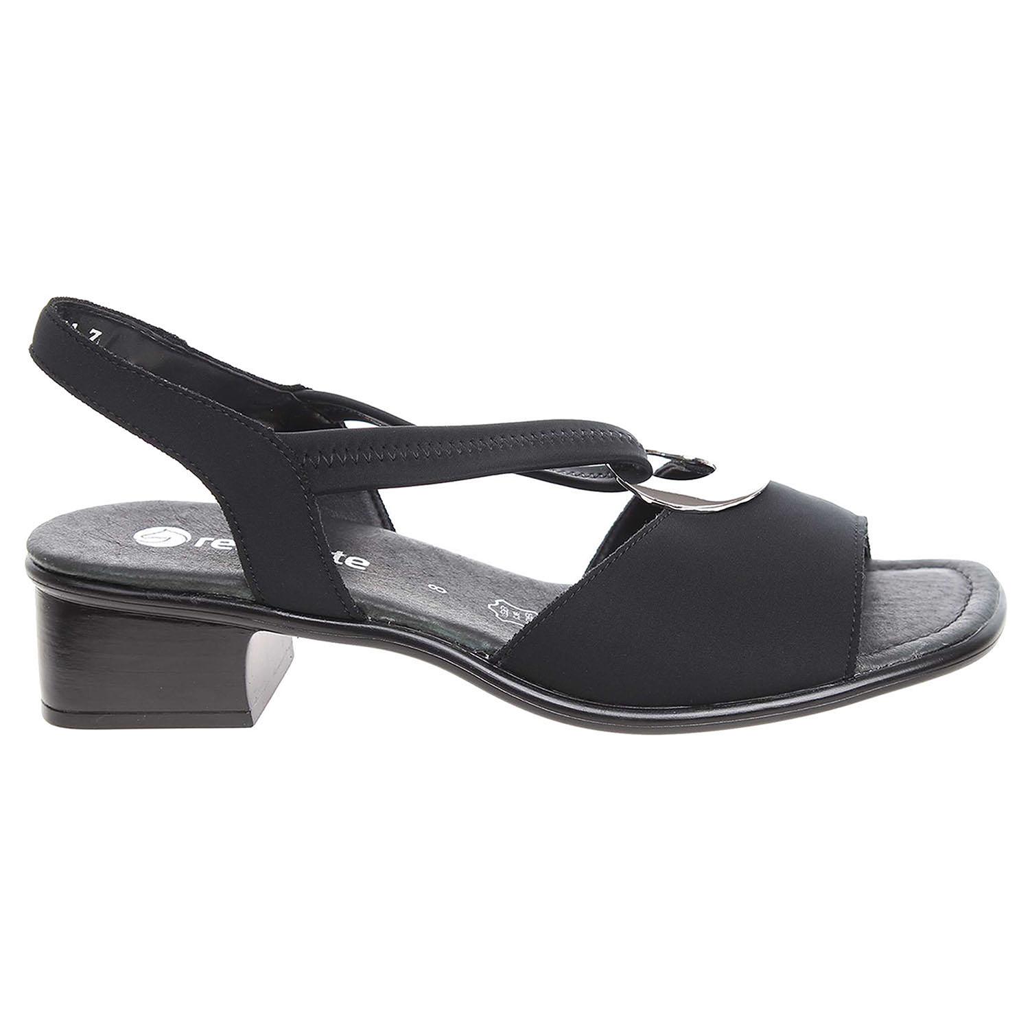 Ecco Remonte dámské sandály R5953-01 černé 22800048