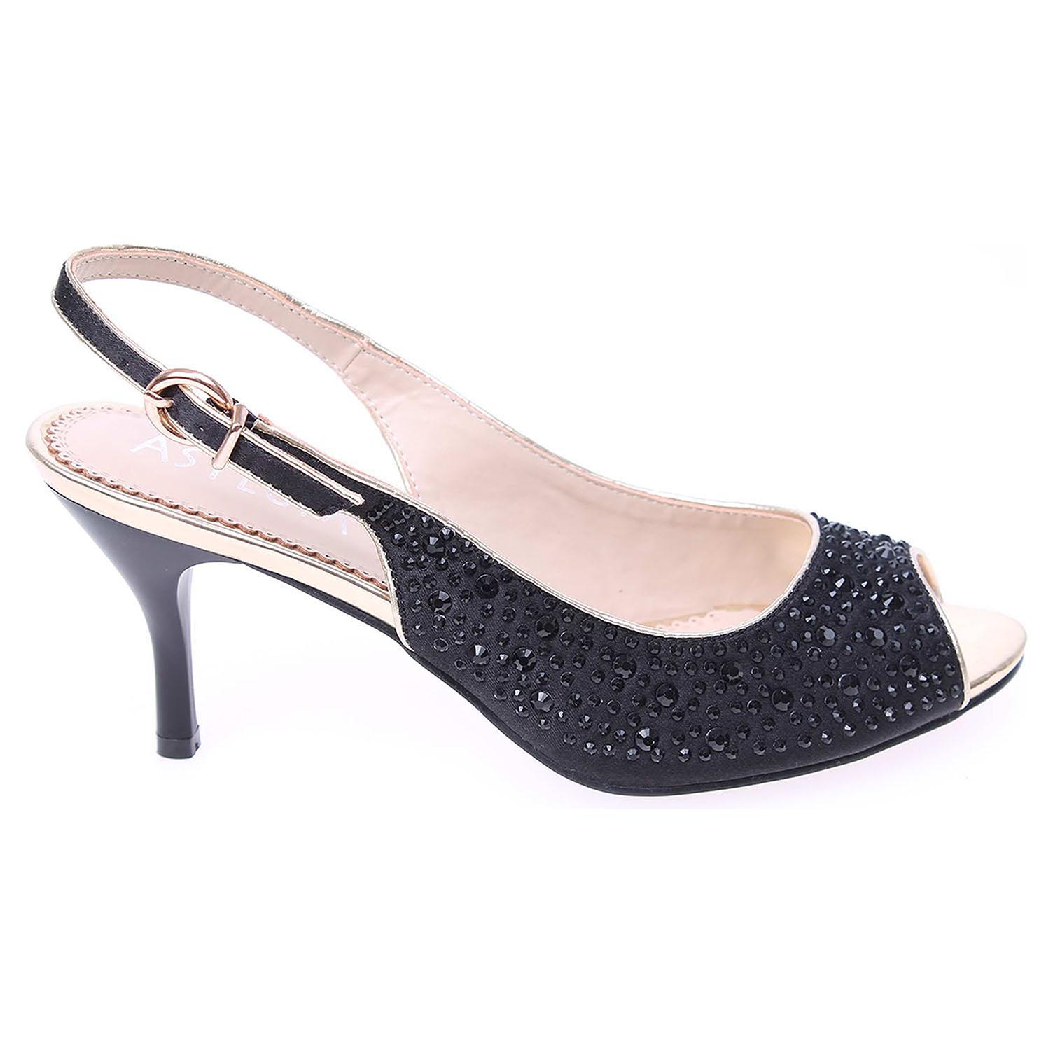 Ecco Asylum dámská společenská obuv AT-212-26-91 černá 22800282