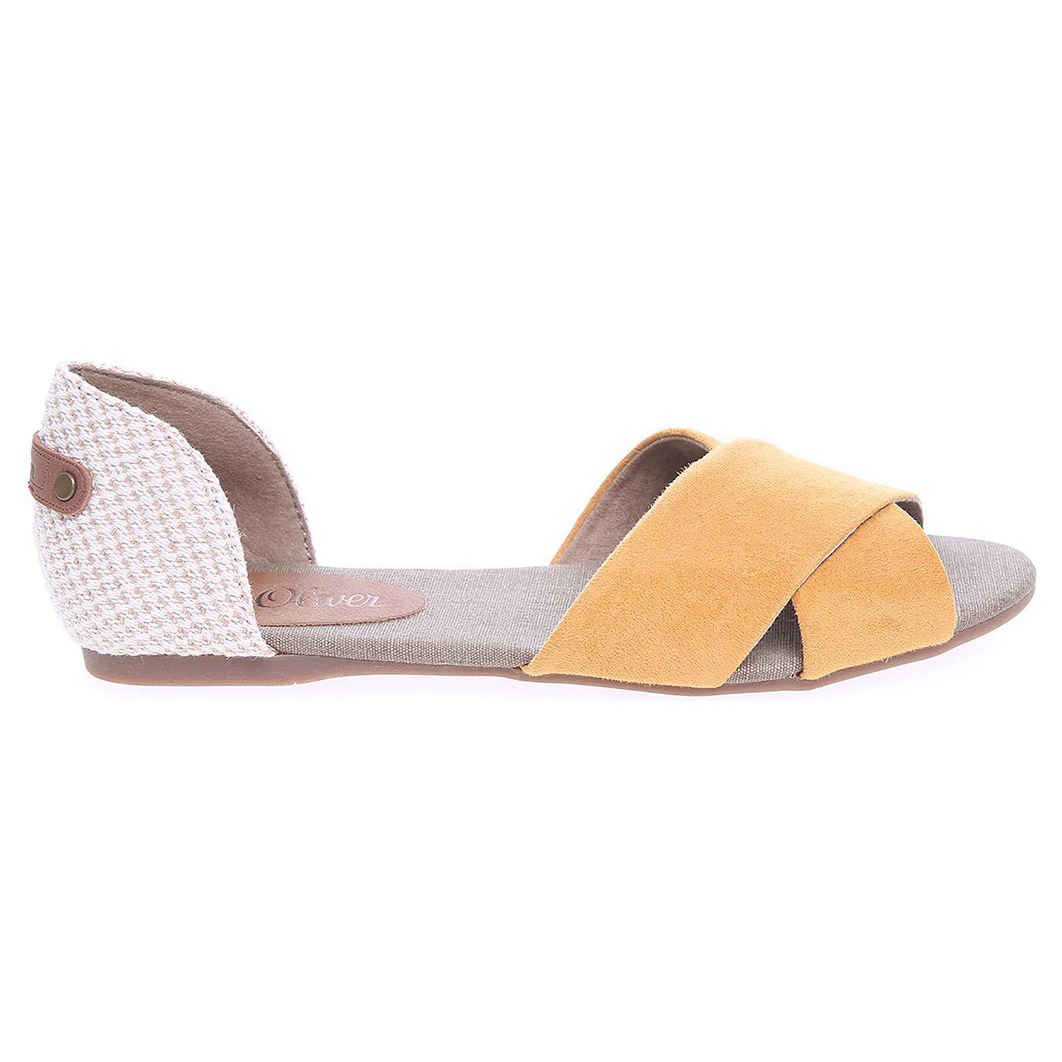 s.Oliver dámská obuv 5-28129-36 žlutá-béžová 37