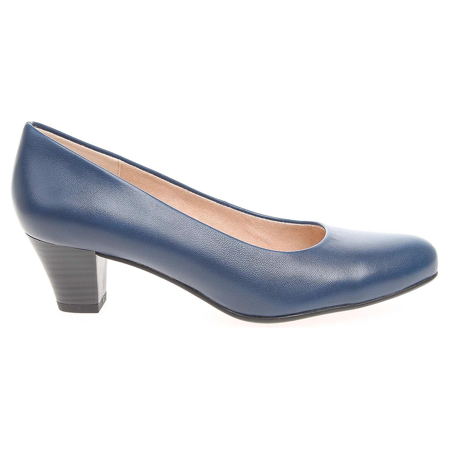 Ecco Caprice dámské lodičky 9-22306-28 modré 22901233