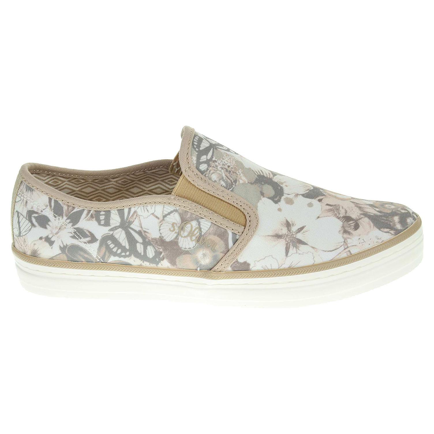 s.Oliver dámská obuv 5-24624-26 béžová 38
