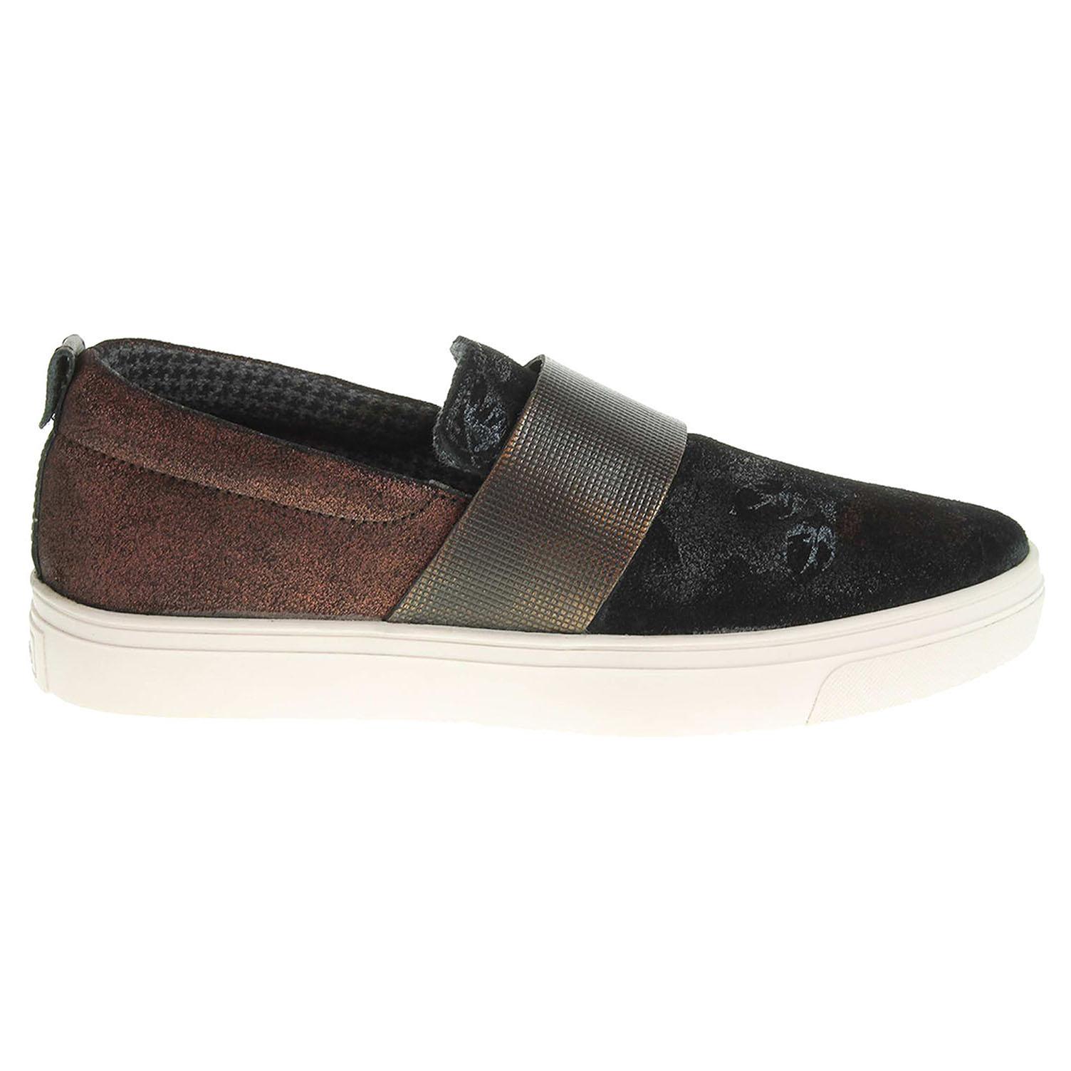 s.Oliver dámská obuv 5-24604-27 černá-cihlová 38