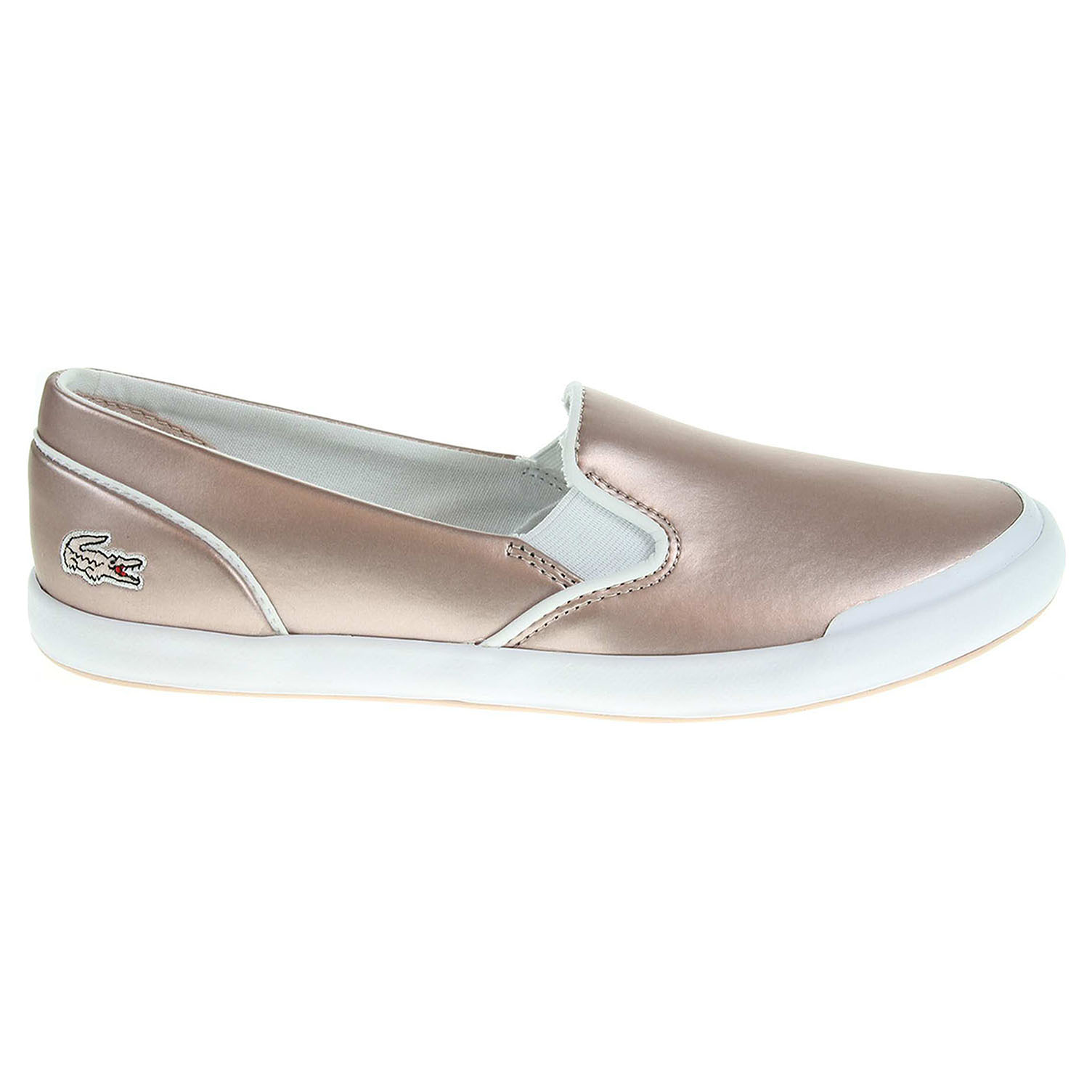 Lacoste Lancelle Slip-On dámská obuv růžová 37